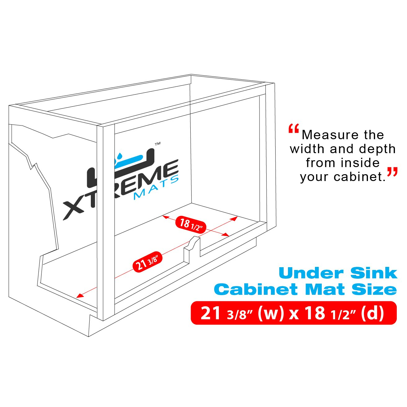 Xtreme Mats Under Sink Bathroom Drip Tray Amp Reviews Wayfair