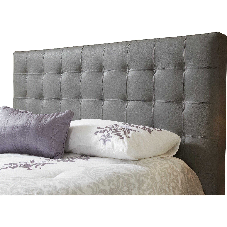 lind furniture estelle top grain upholstered panel