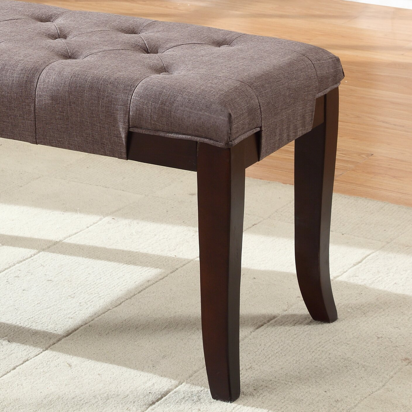 Roundhill Furniture Linion Bench & Reviews