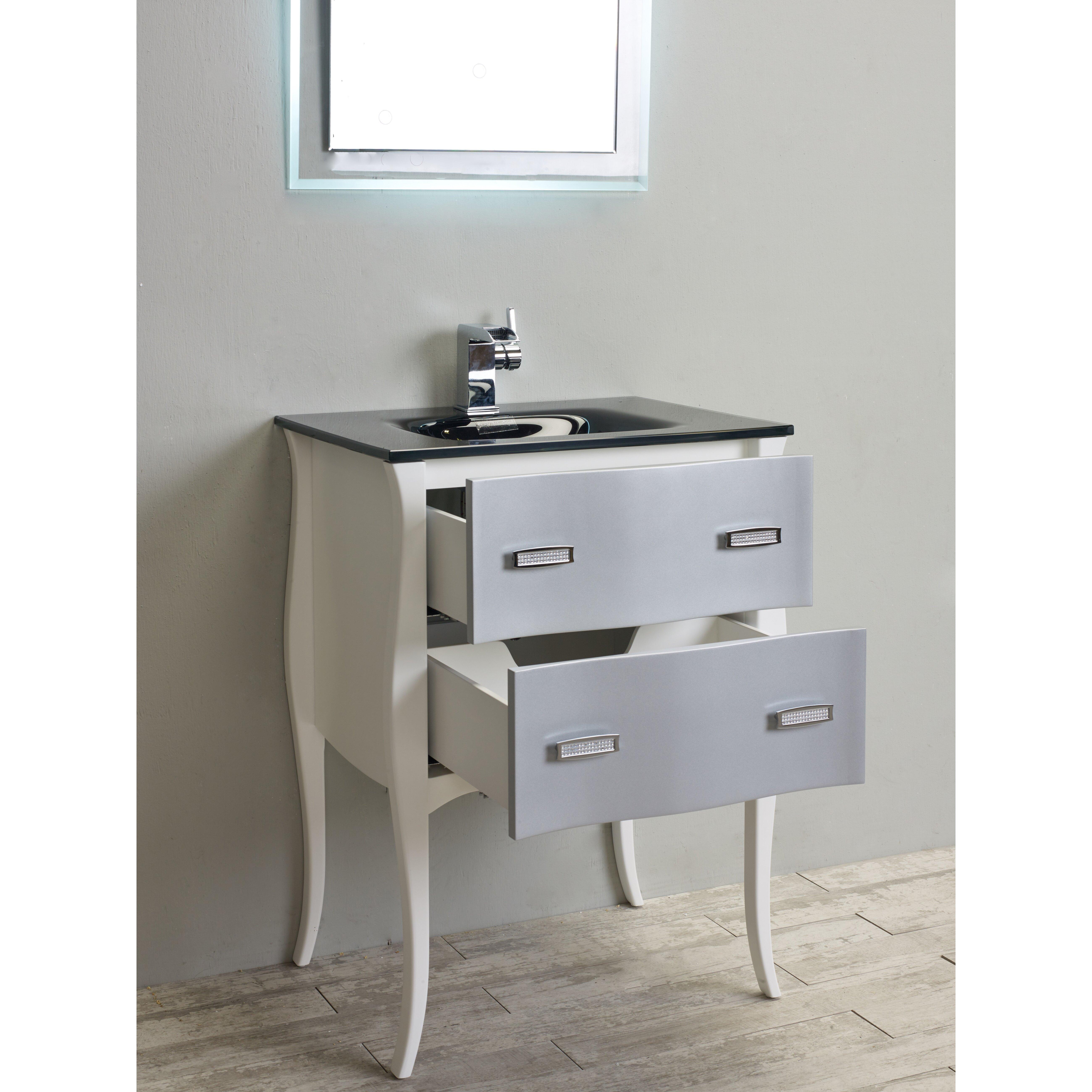 "Eviva Aranjuez 24"" Single Bathroom Vanity Set & Reviews"