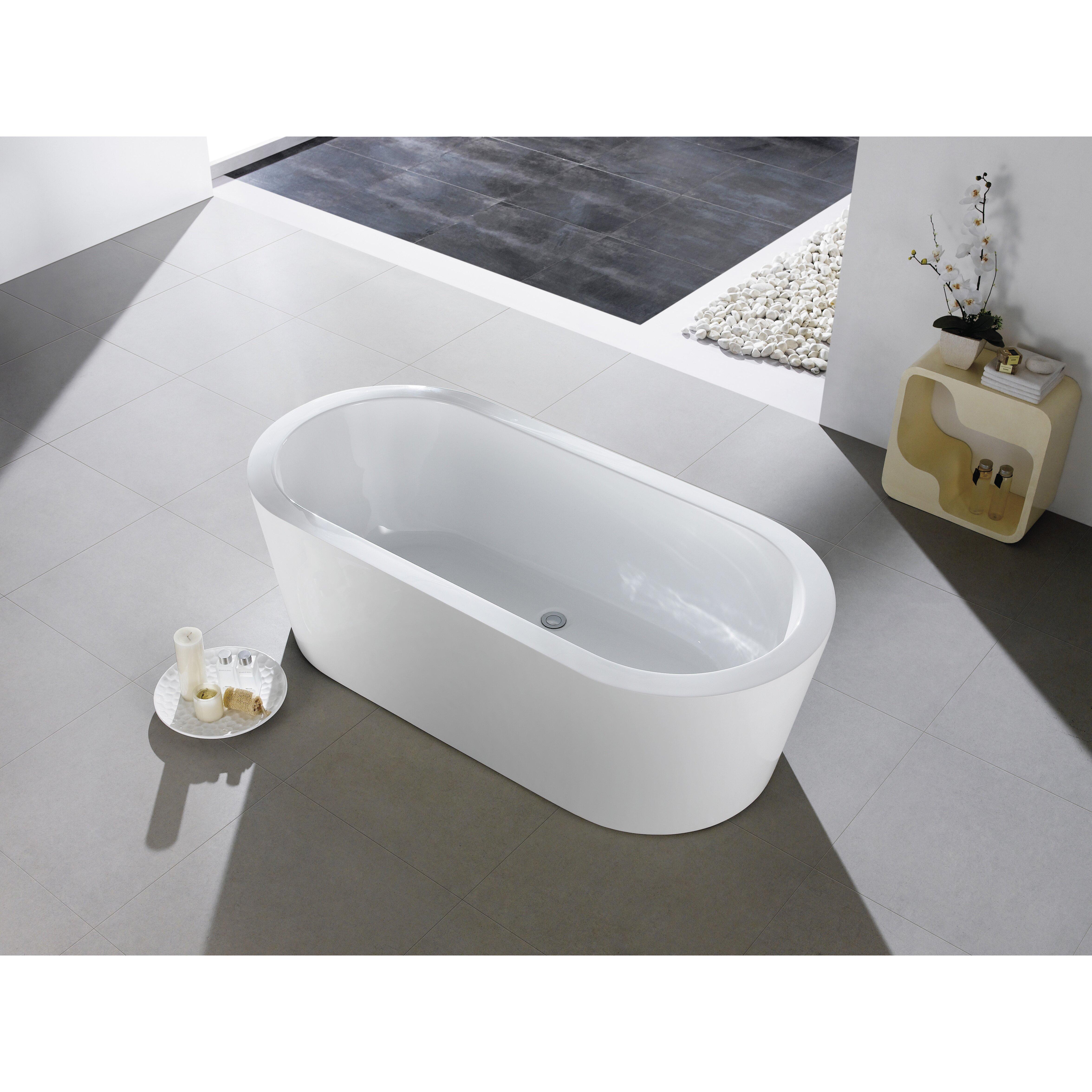 Eviva Ramo 58 X 29 Bathtub Wayfair