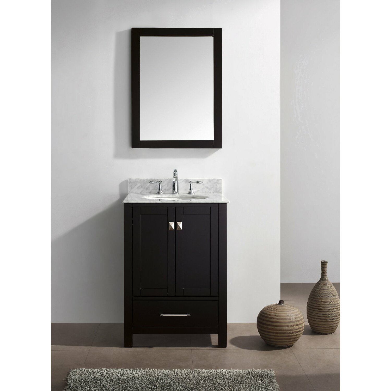 Just Cabinets Aberdeen Eviva Aberdeen 24 Single Bathroom Vanity Set Reviews Wayfair