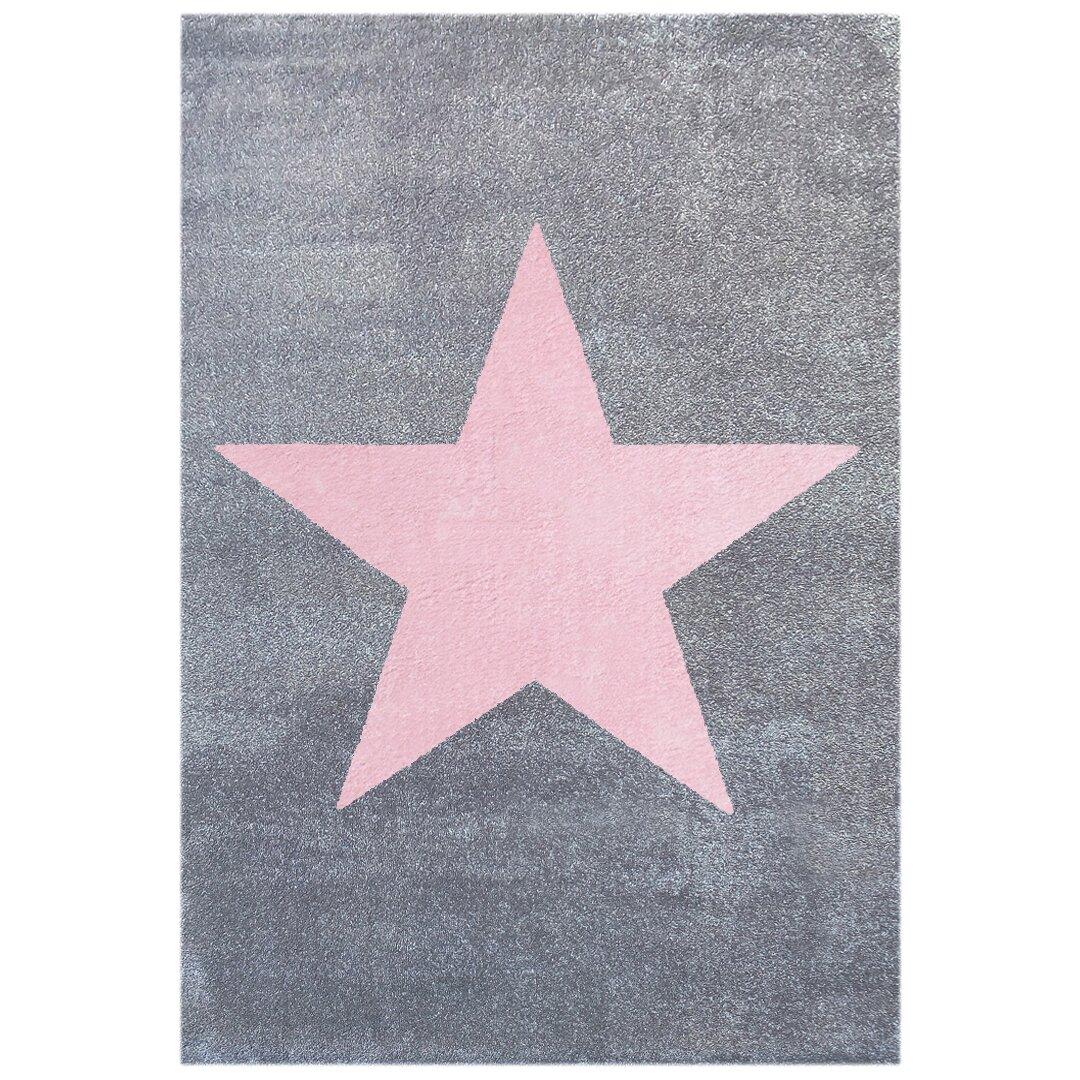 Livone Star Grey/Pink Area Rug & Reviews