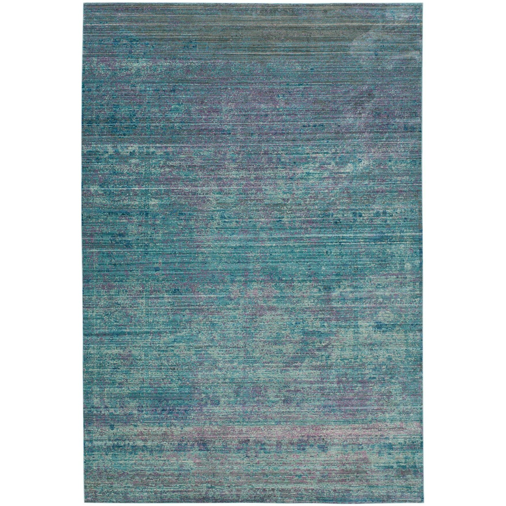 Bungalow Rose Thanh Turquoise Area Rug & Reviews