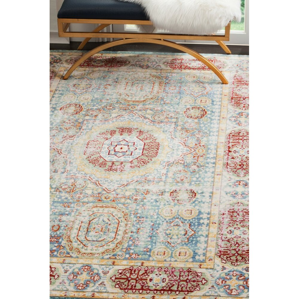 Bungalow Rose Thanh Blue Area Rug amp Reviews Wayfair : Bungalow Rose Thanh Blue Area Rug from www.wayfair.com size 1000 x 1000 jpeg 346kB
