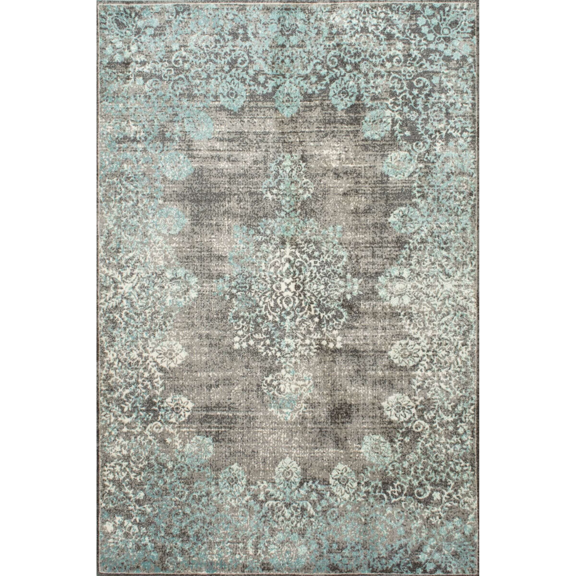 Saleya Turquoise Area Rug: Bungalow Rose Damone Blue Area Rug & Reviews