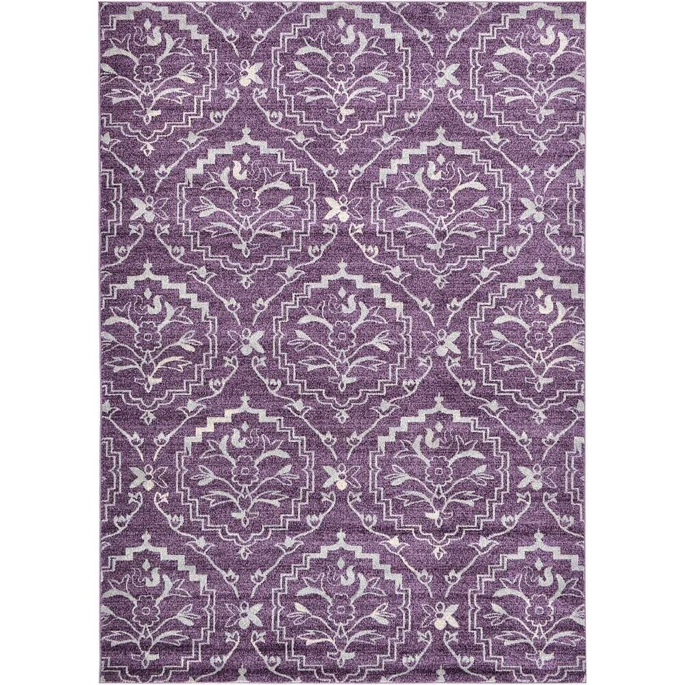 Purple Rug: Bungalow Rose Ezequiel Purple Area Rug & Reviews