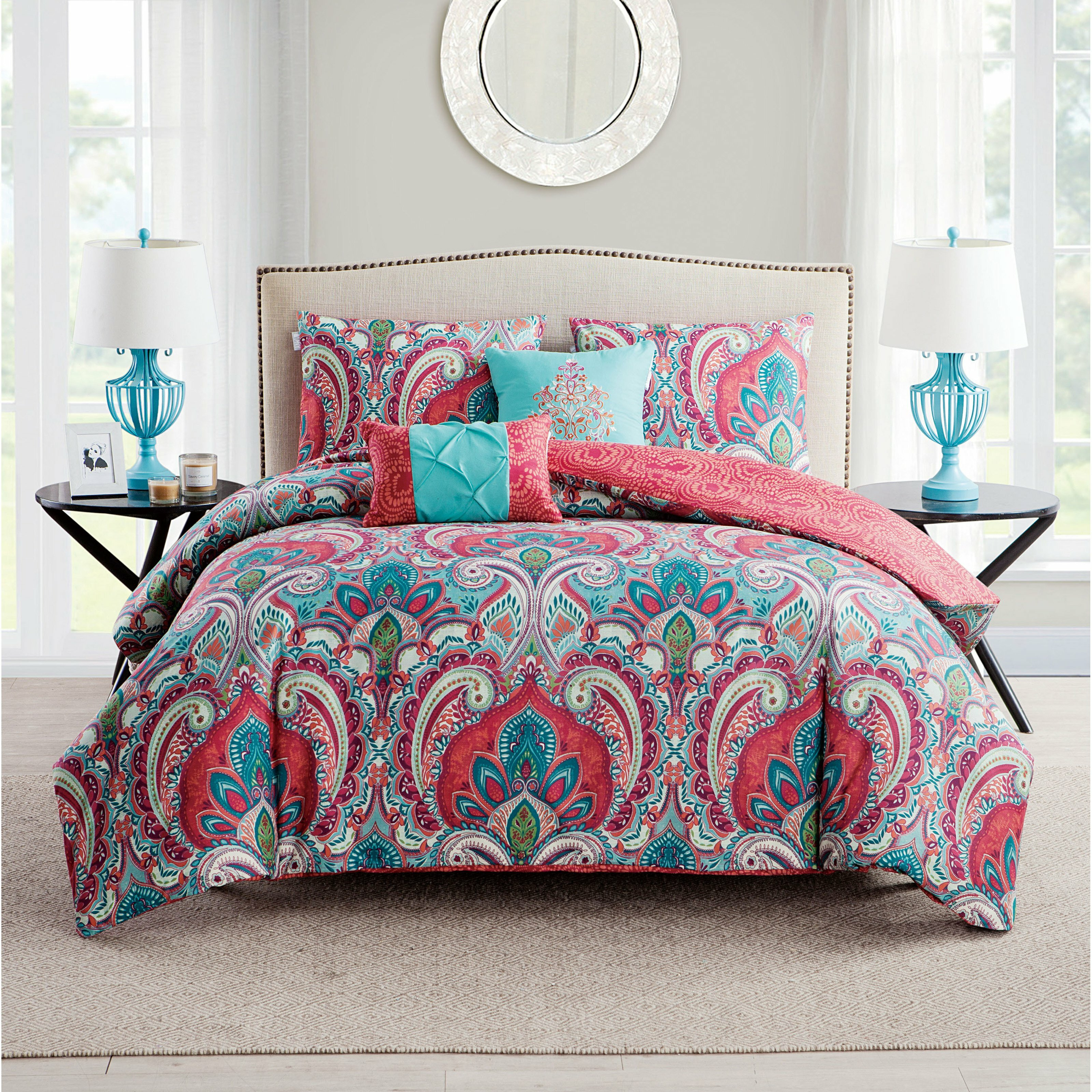 Bungalow Rose Olympic Duvet Set Amp Reviews Wayfair