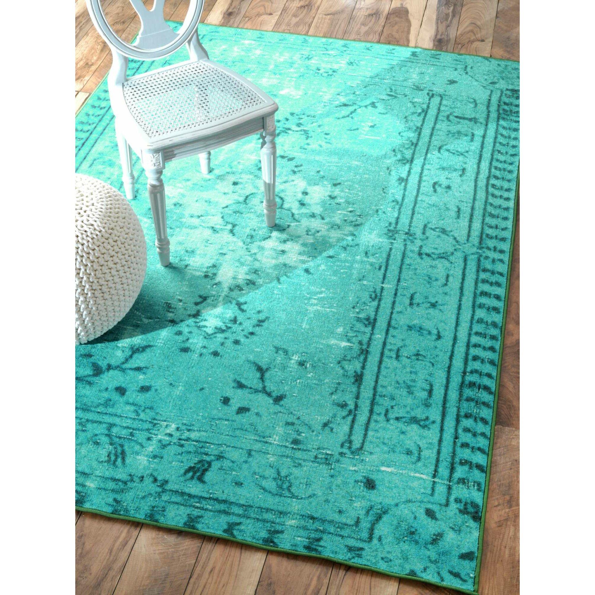 Saleya Turquoise Area Rug: Zoubir Turquoise Area Rug & Reviews