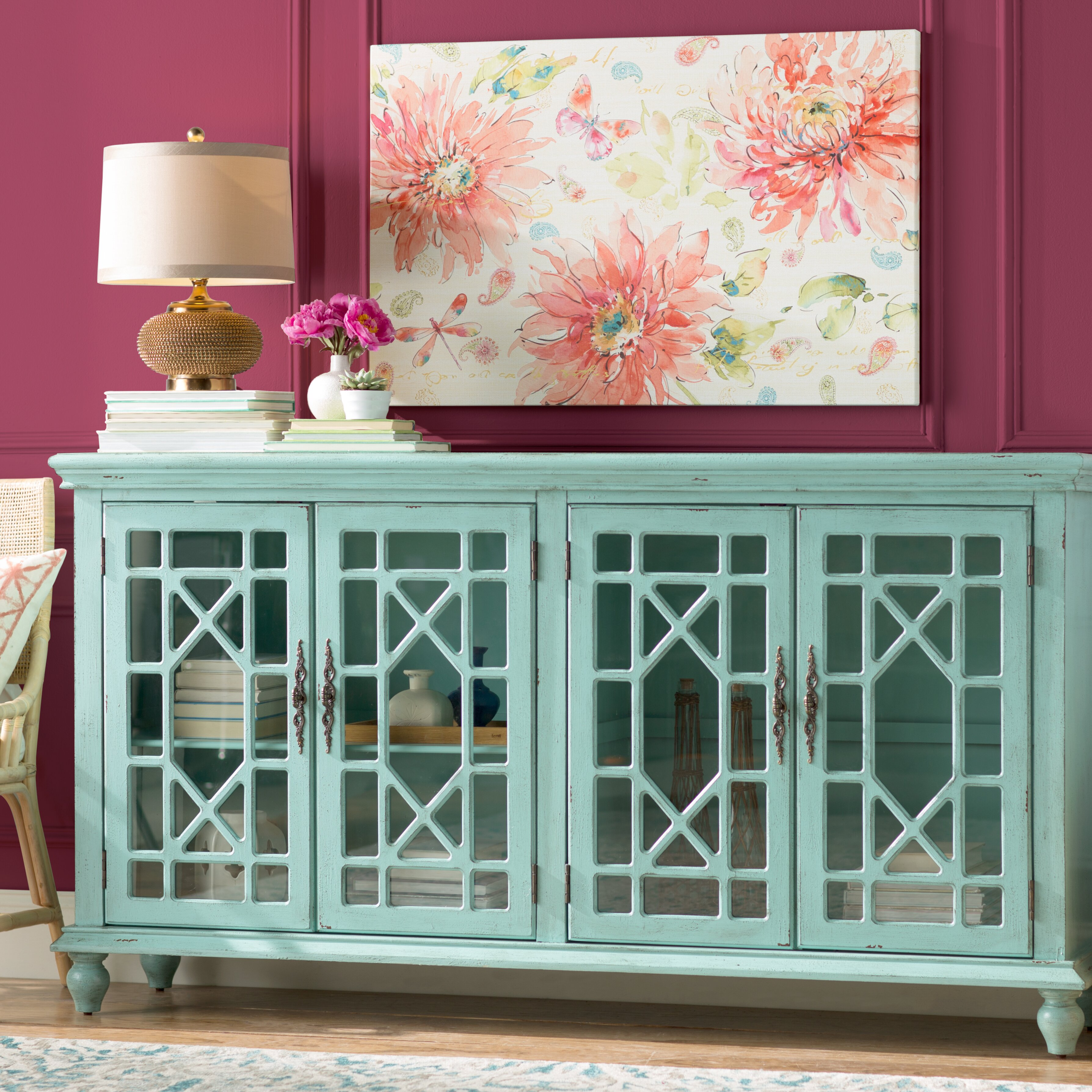 Bungalow Rose Navya Wood Storage Bedroom Bench Reviews: Bungalow Rose Mendenhall Whitlam Sideboard & Reviews