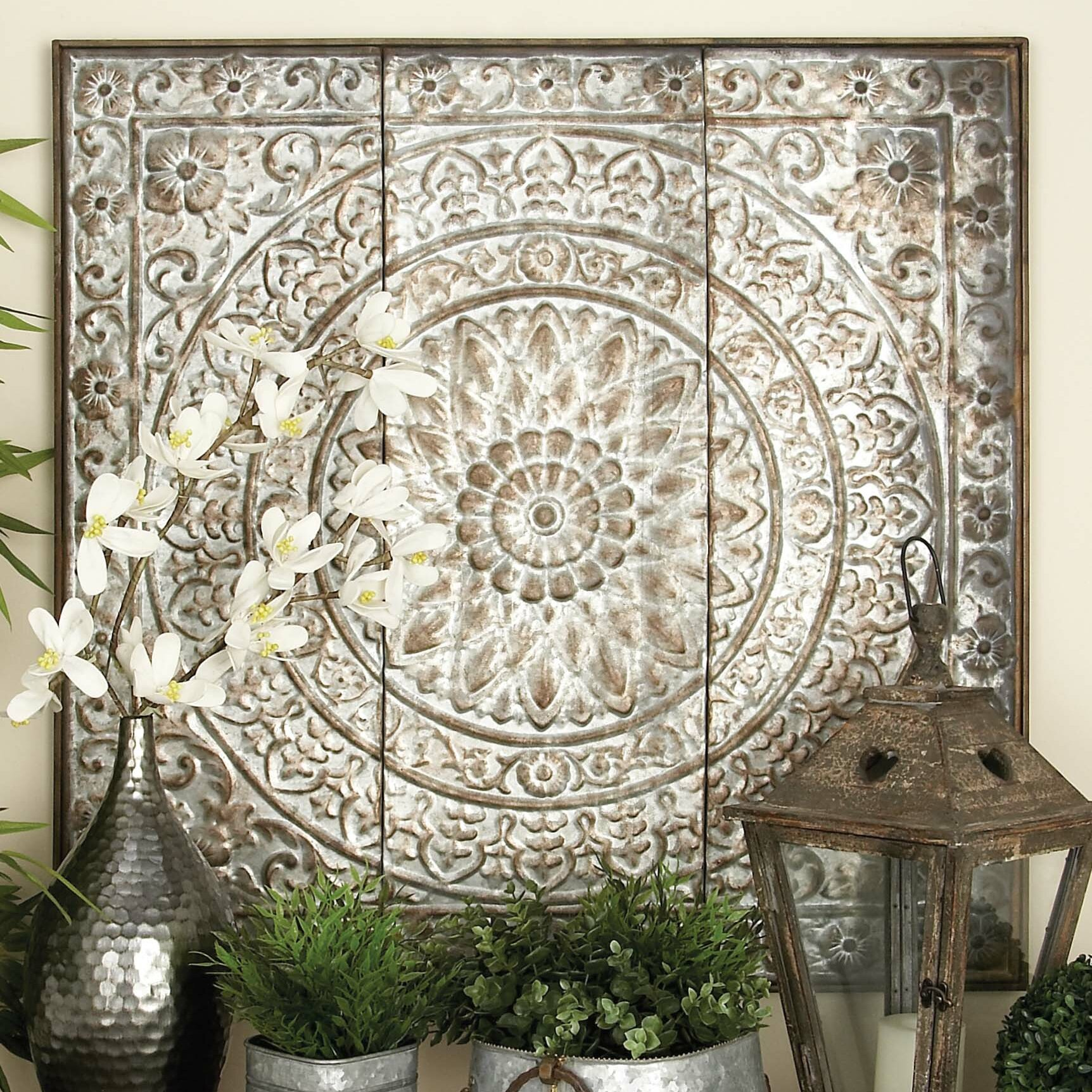Bungalow Roseu0026trade; Vinyl Artistic Wall Panel ...
