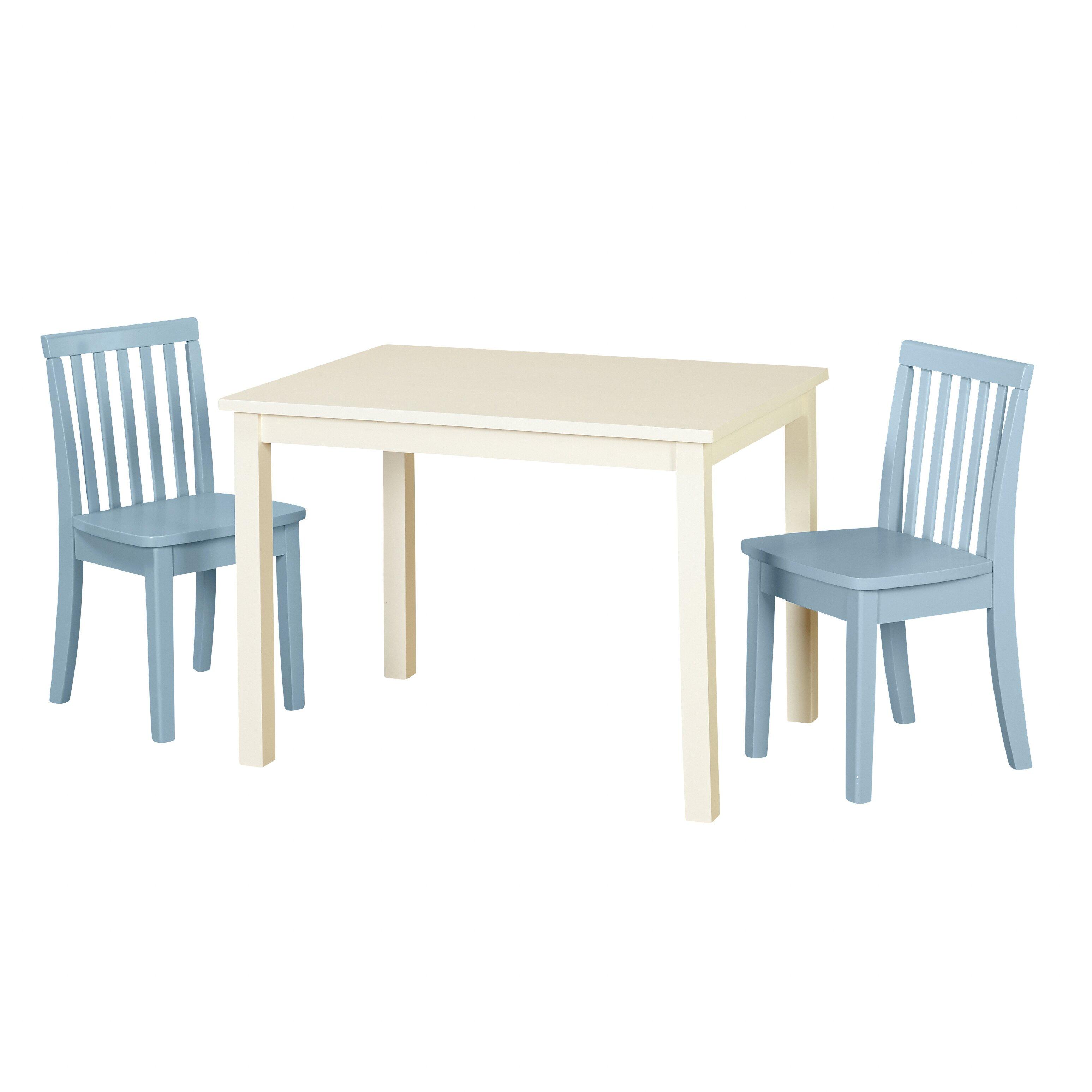 Kidkraft Heart Table And Chair Set Modern Rectangle Kids Table Chair Sets Allmodern
