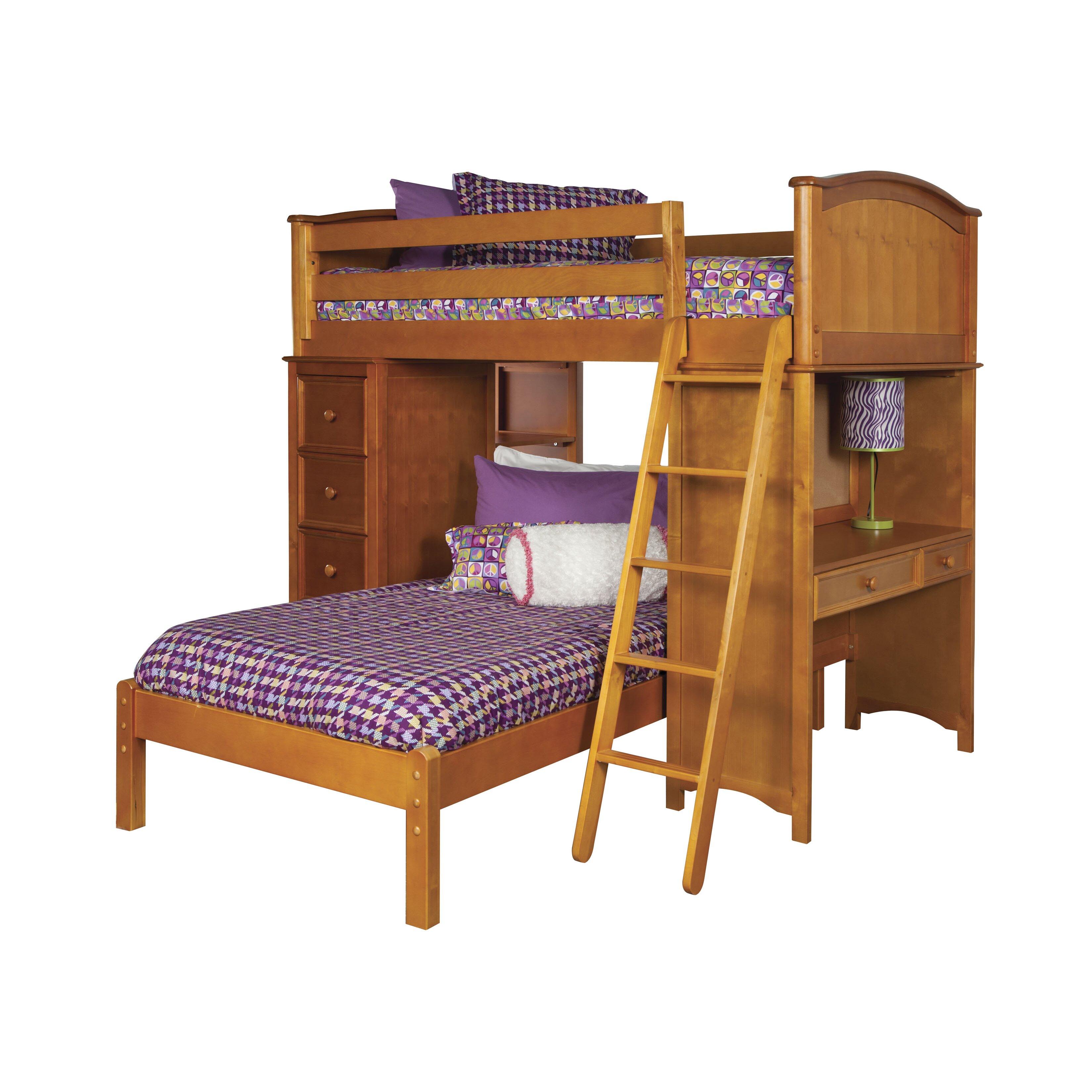 viv rae david twin loft bed customizable bedroom set reviews