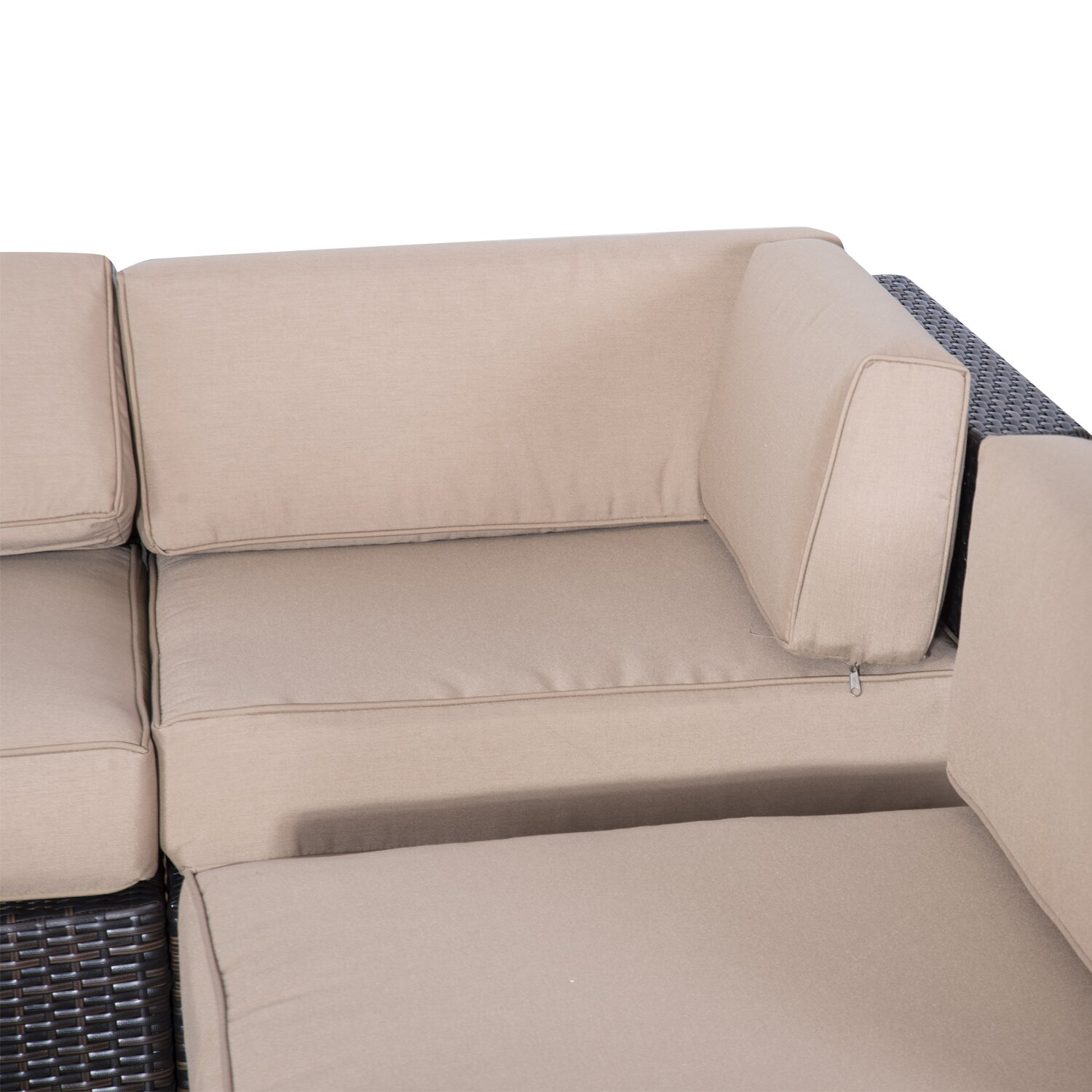 Outsunny Outsunny 9 Piece Seating Group with Cushions