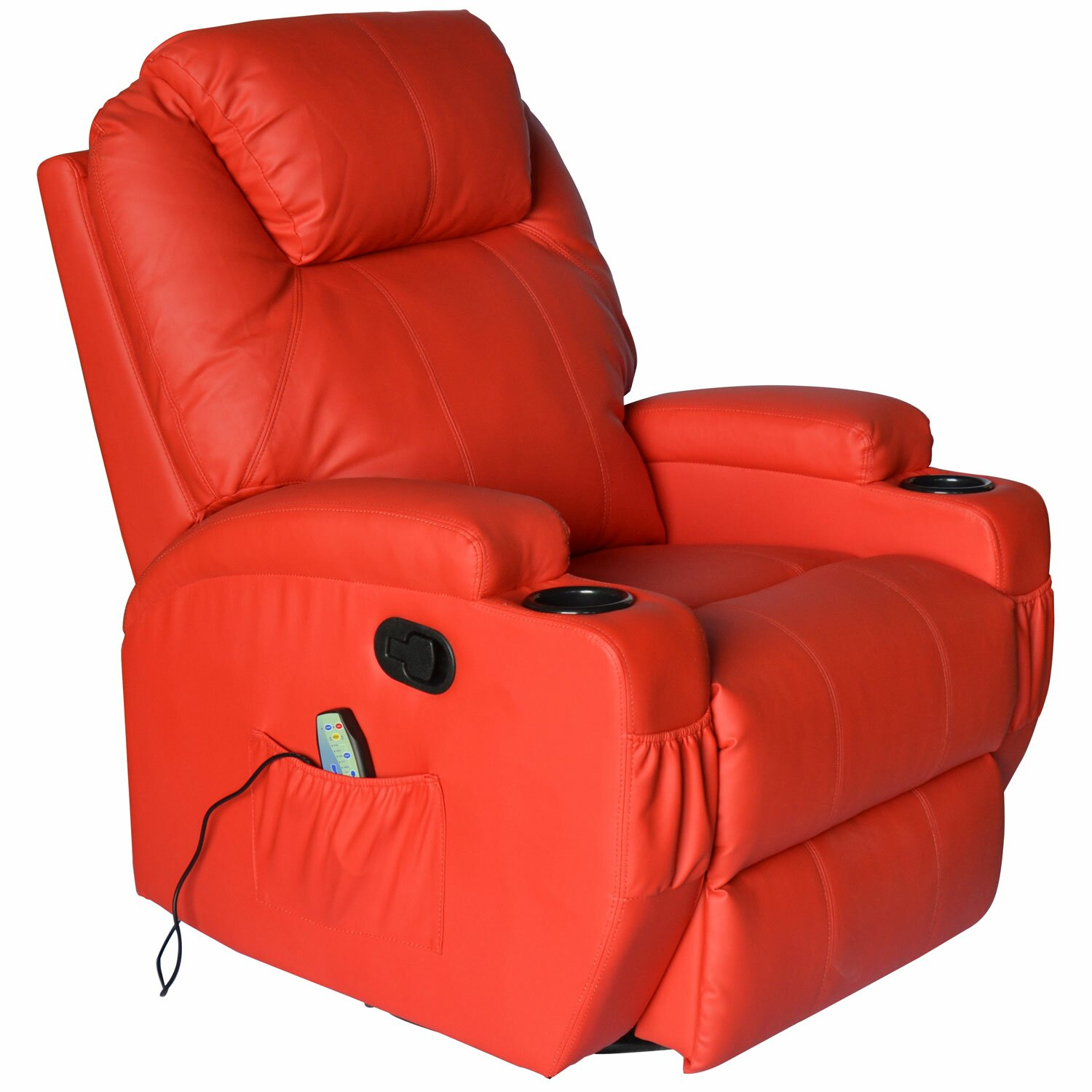 Furniture Living Room Furniture ... Red Recliners Outsunny SKU ...
