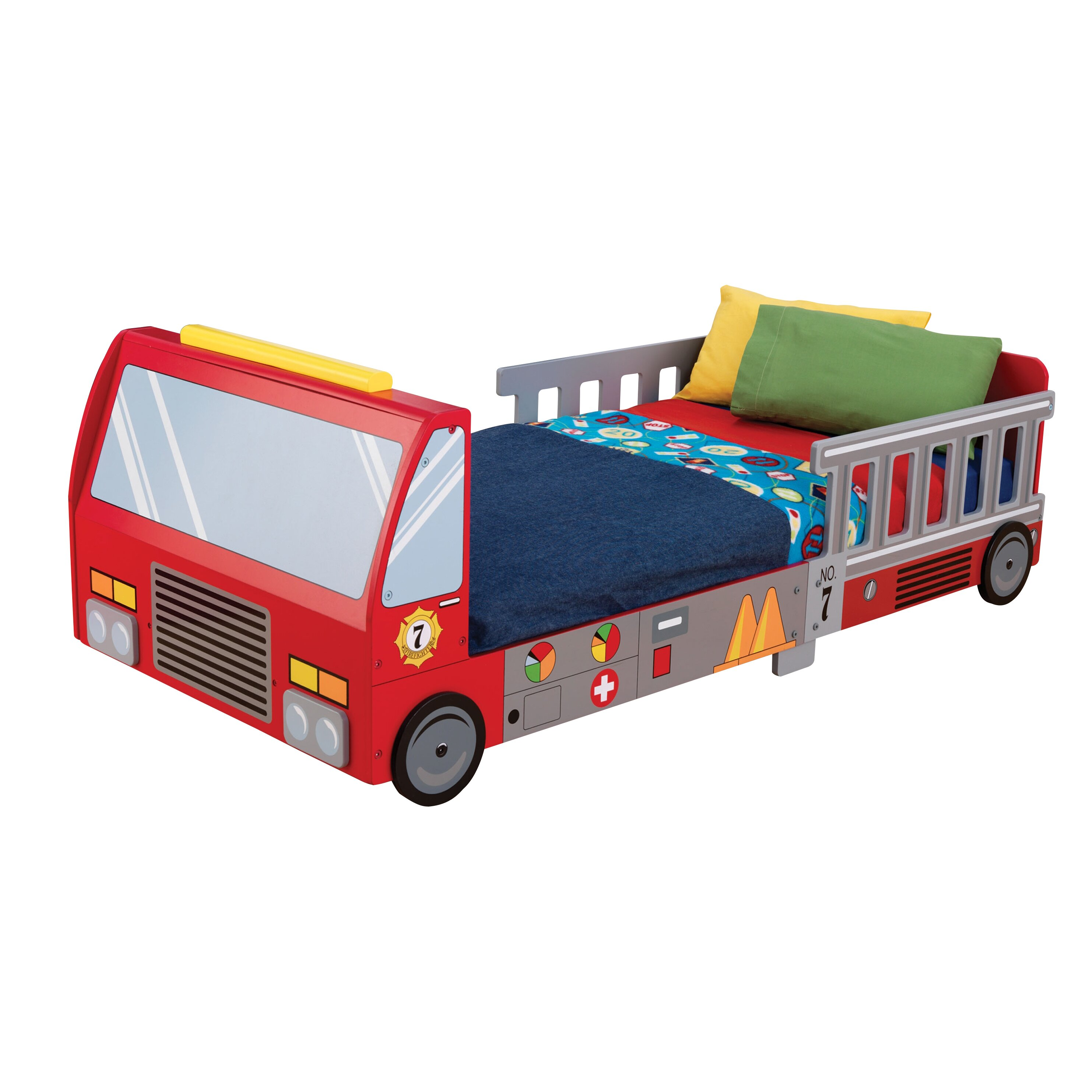 Baby jeep bed - Kidkraft Firefighter Toddler Car Bed