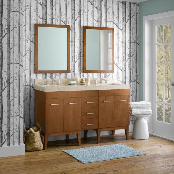 Ronbow Venus 58 Double Bathroom Vanity Set Reviews – 58 Bathroom Vanity