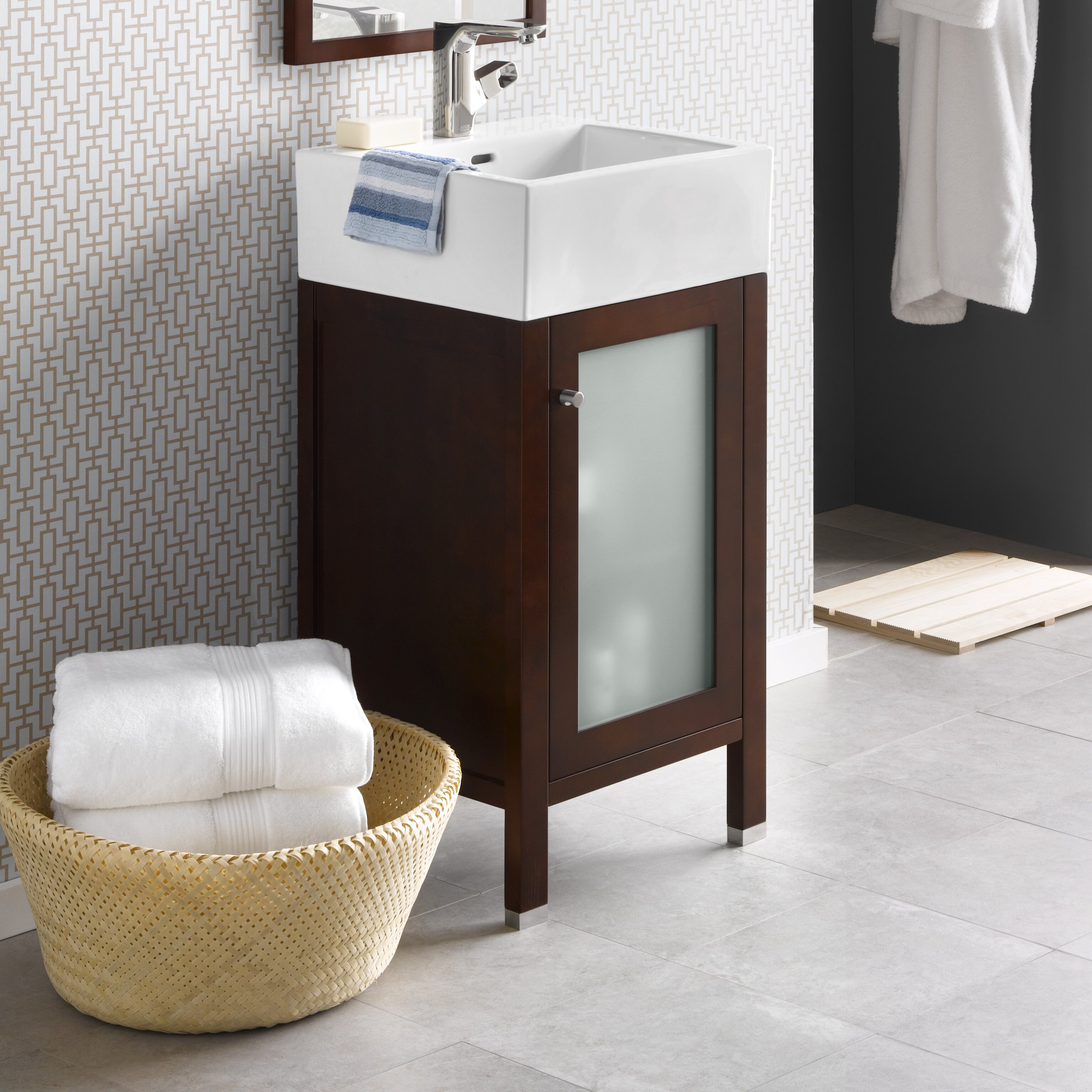 Ronbow Cami 18 quot  Single Bathroom Vanity Set. Ronbow Cami 18  Single Bathroom Vanity Set   Reviews   Wayfair