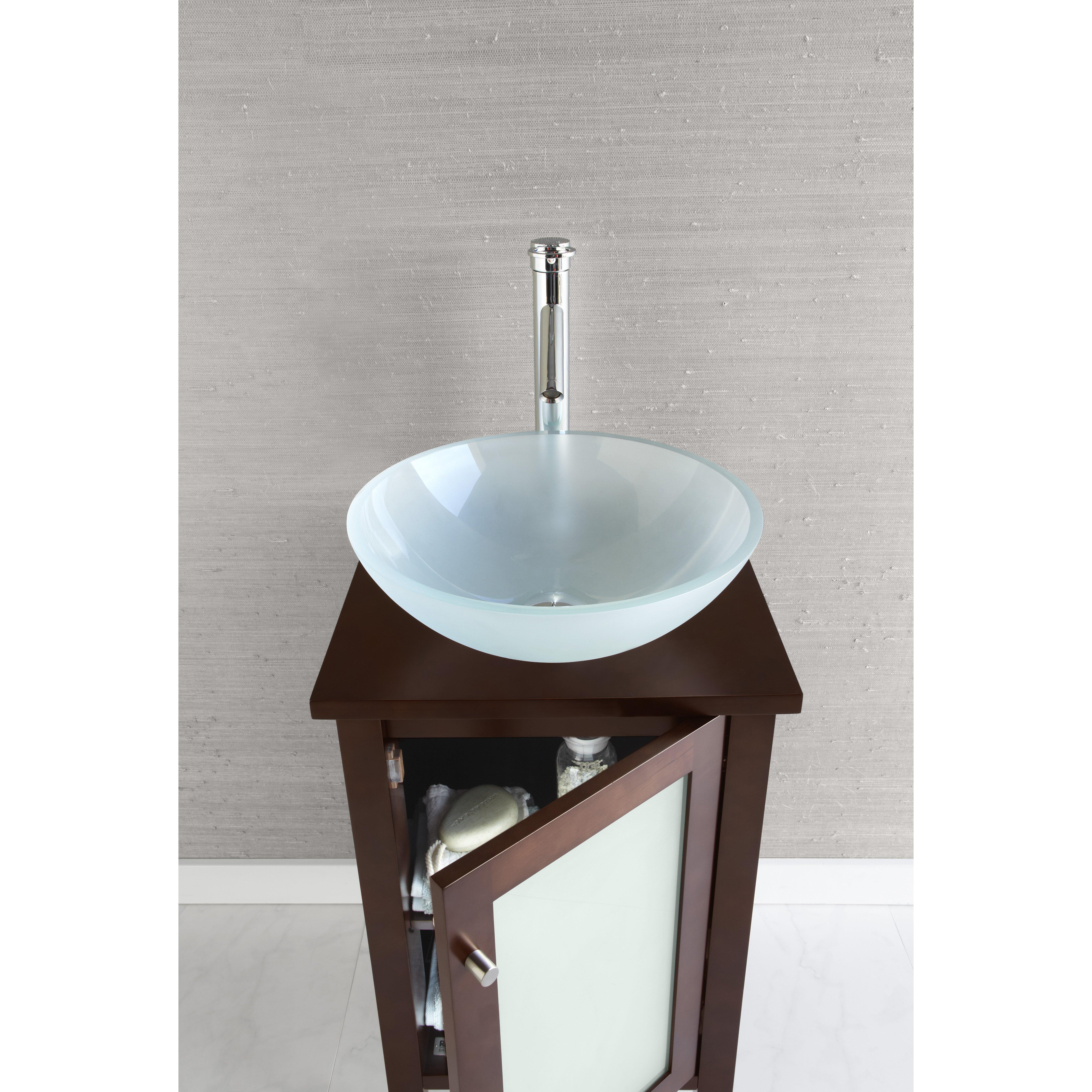Bathroom Vanity Base Ronbow Cami 18 Bathroom Vanity Base Cabinet In Dark Cherry