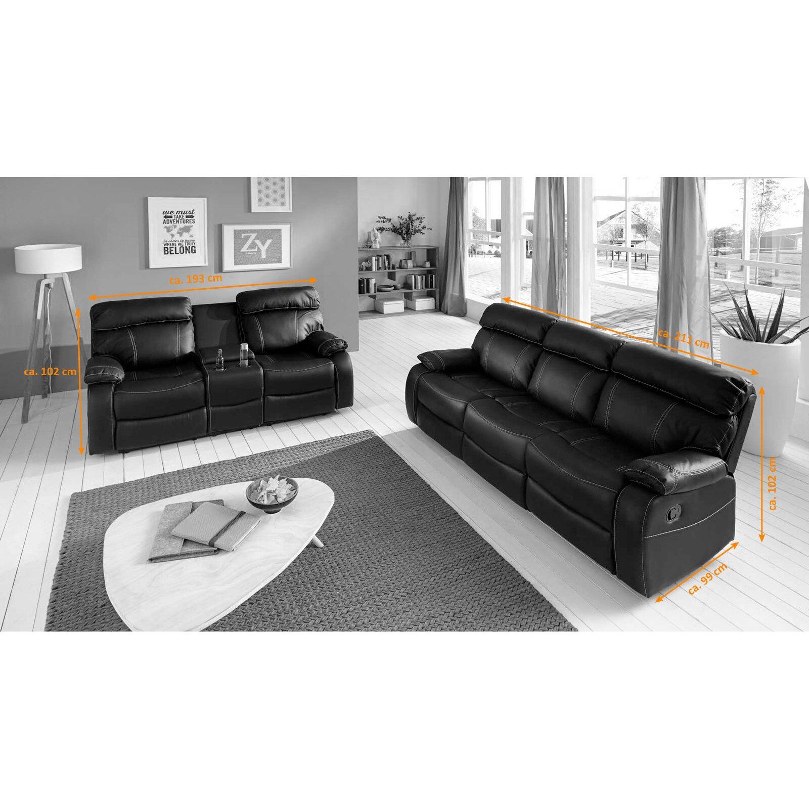 sam stil art m bel gmbh 2 tlg polstergarnitur elat. Black Bedroom Furniture Sets. Home Design Ideas