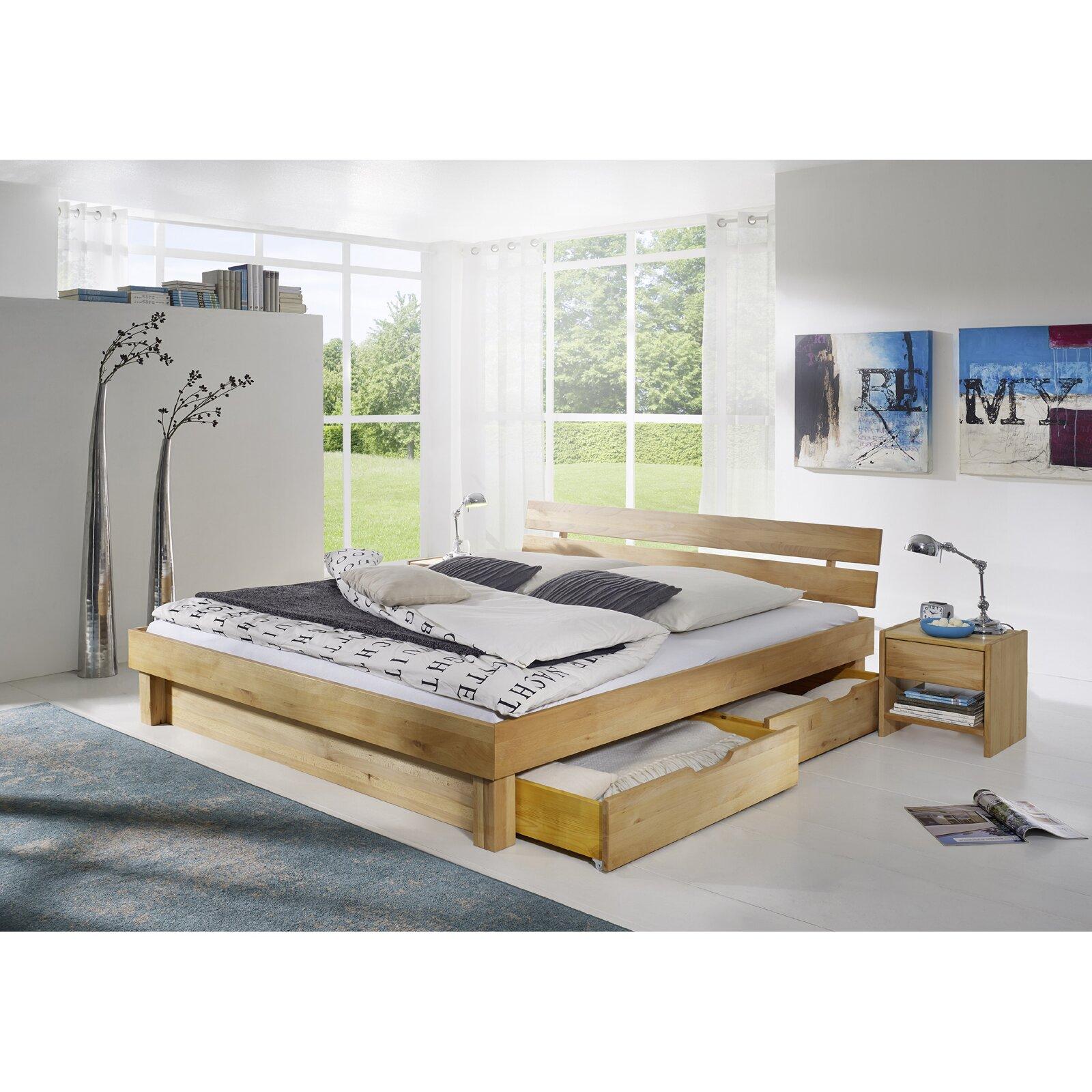 sam stil art m bel gmbh massivholzbett canyon mit stauraum bewertungen. Black Bedroom Furniture Sets. Home Design Ideas