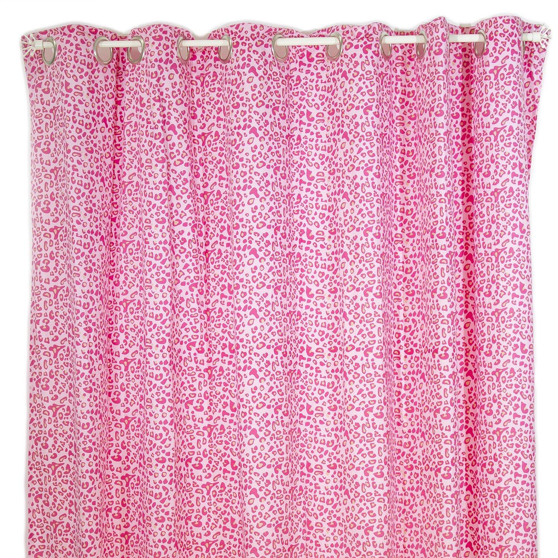 Cheetah shower curtain - Pam Grace Creations Tabby Cheetah Cotton Shower Curtain