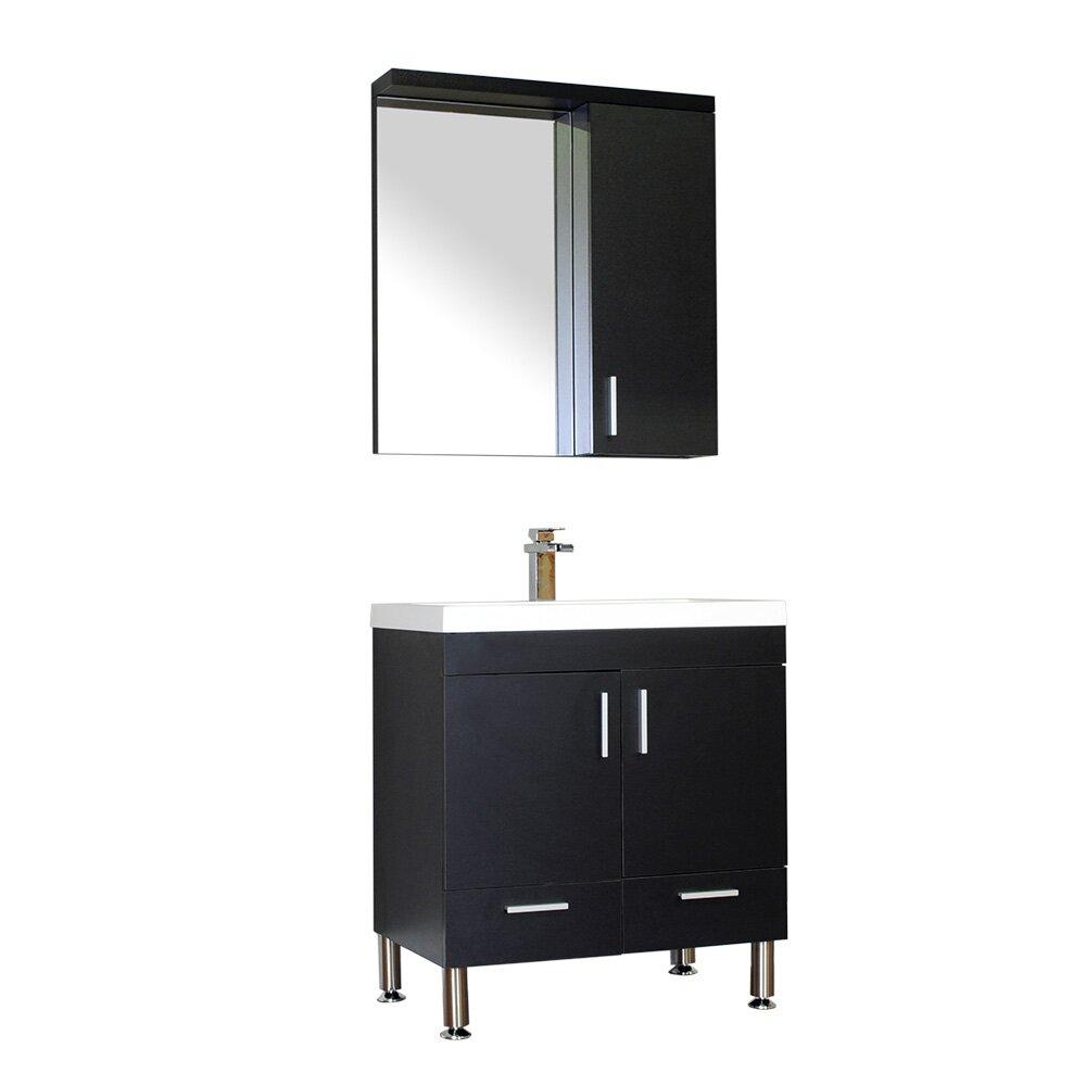 "Alya Bath Ripley 30"" Single Modern Bathroom Vanity Set"
