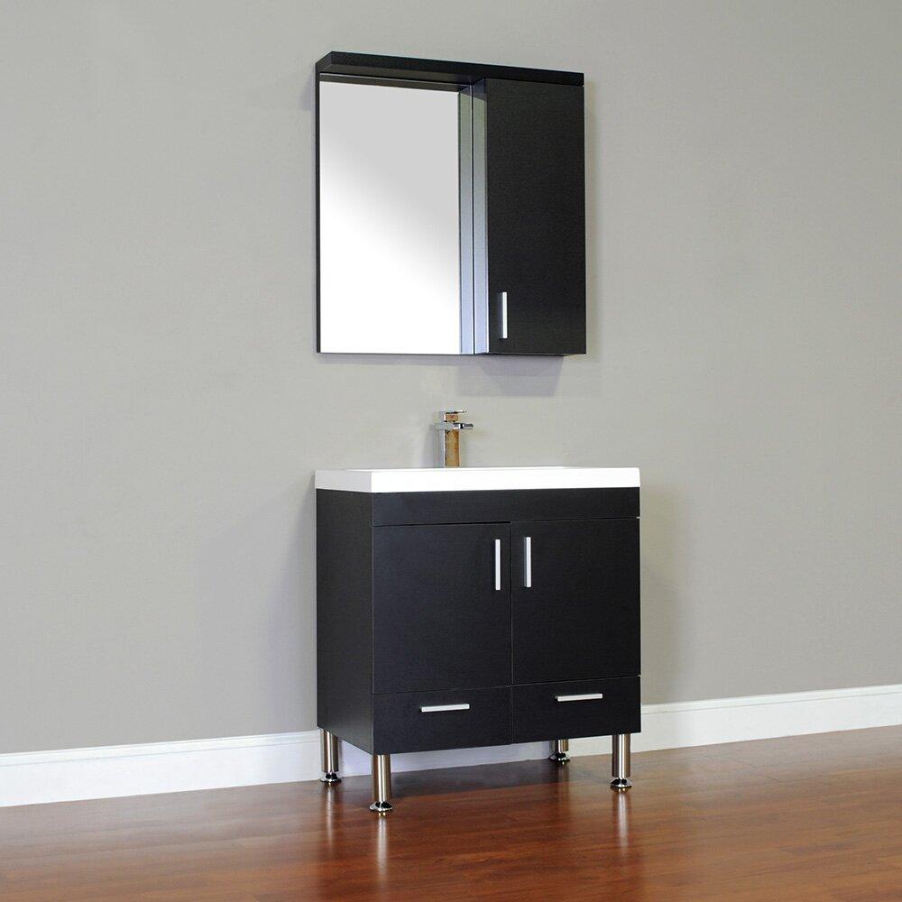 Alya Bath Ripley 30 amp quot  Single Modern Bathroom Vanity Set with Mirror. Alya Bath Ripley 30 quot  Single Modern Bathroom Vanity Set with Mirror