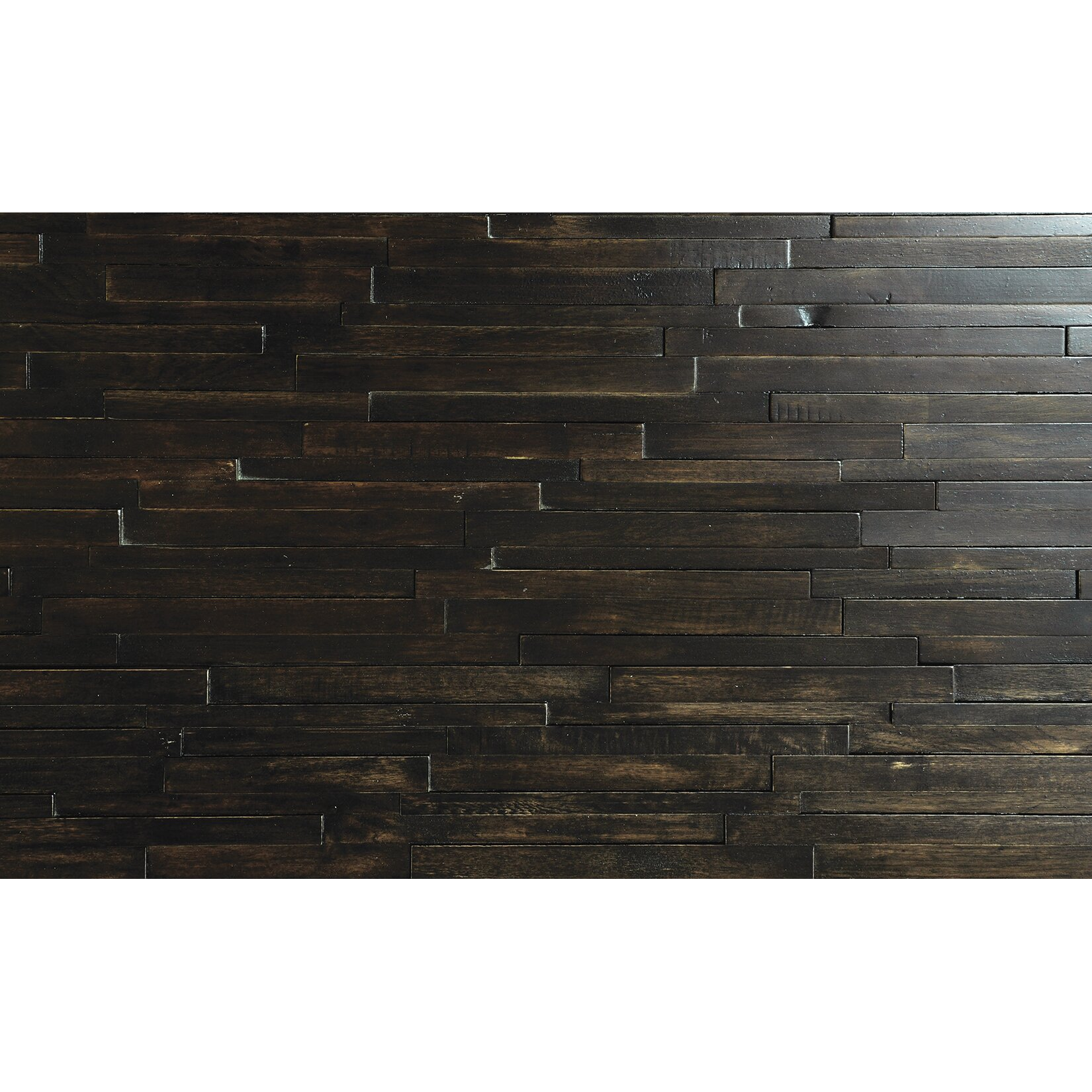Wonderful image of  Lodge 10 Natural Wood Wall Paneling in Bromley & Reviews Wayfair with #595042 color and 1650x1650 pixels