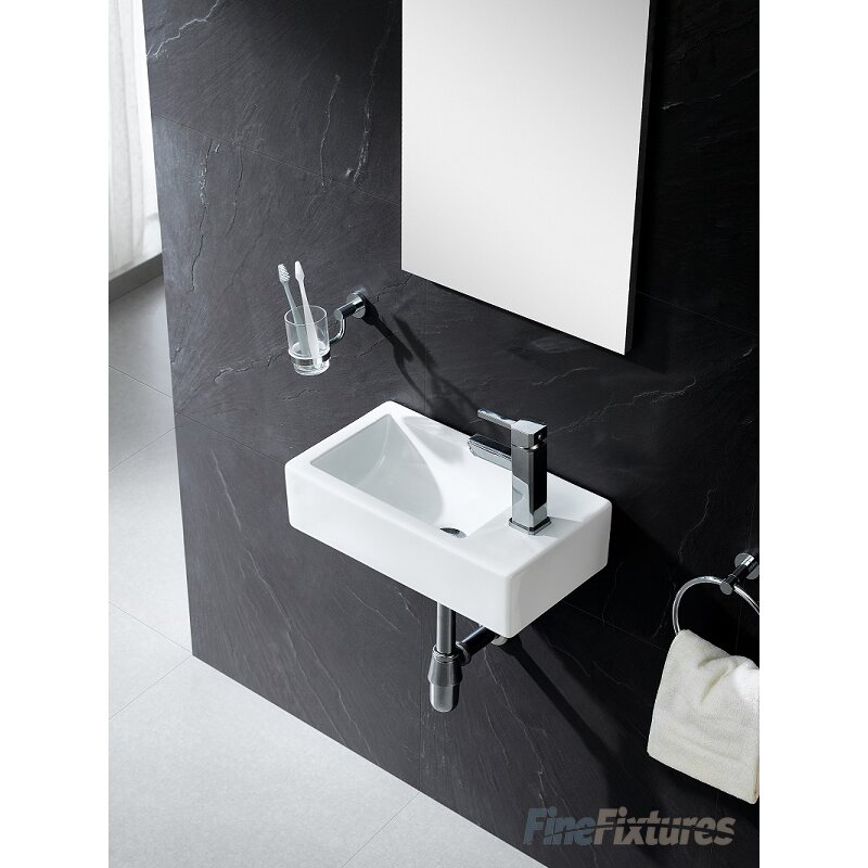 Fine Fixtures Vitreous China Wall Hung 18 Quot Wall Mount