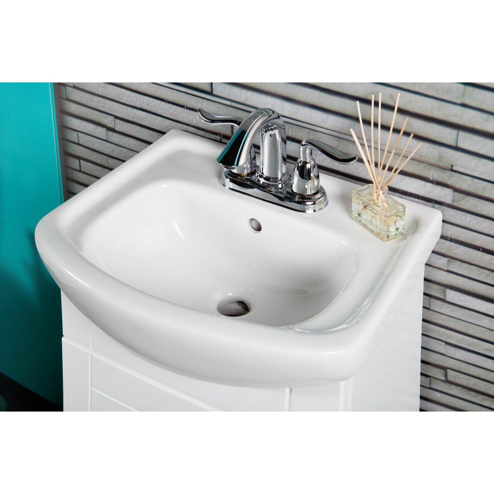 Bathroom Vanity Montreal Fine Fixtures Petite 16 Single Bathroom Vanity Set Reviews