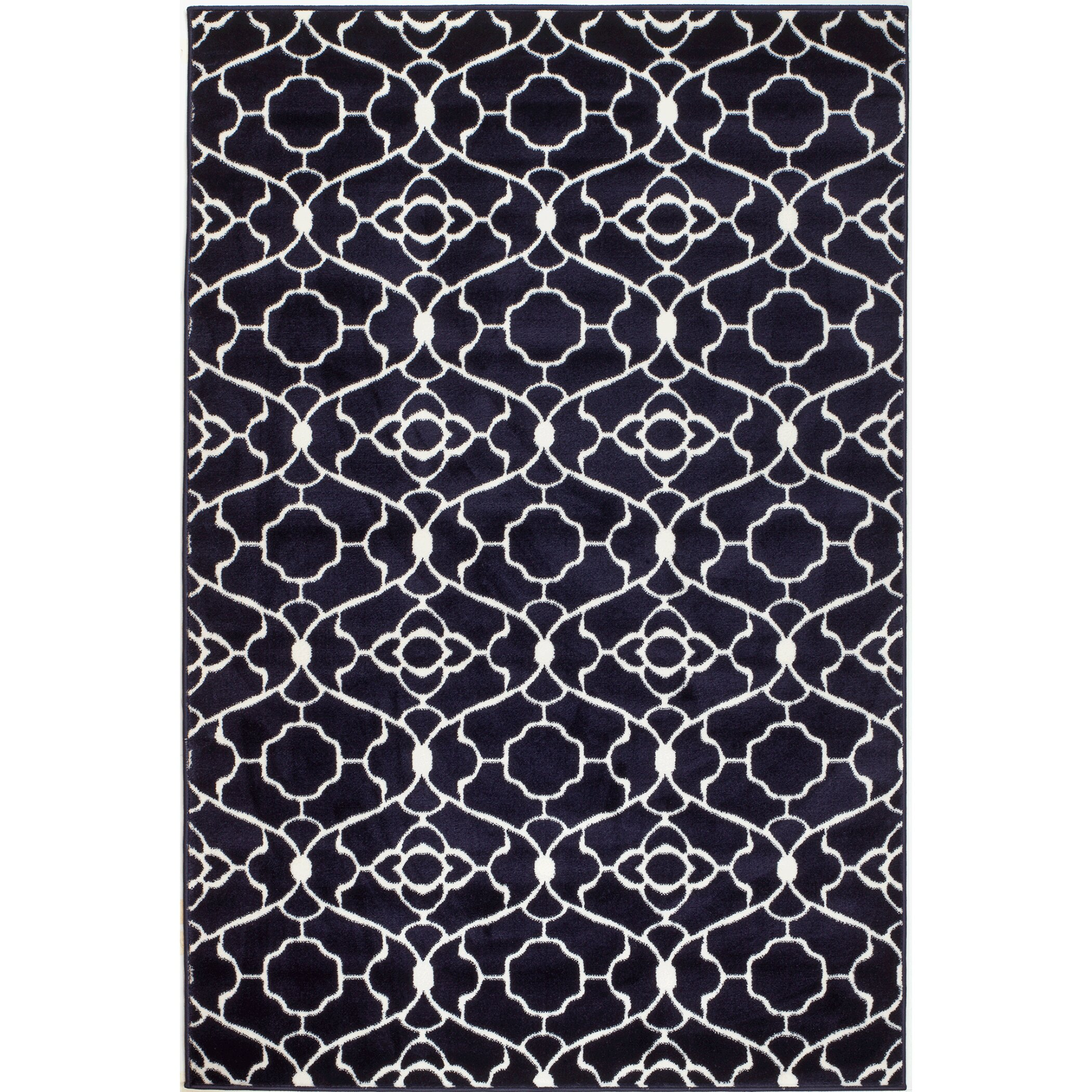 Rug And Decor Inc Summit Elite Navy Blue Area Rug Reviews Wayfair