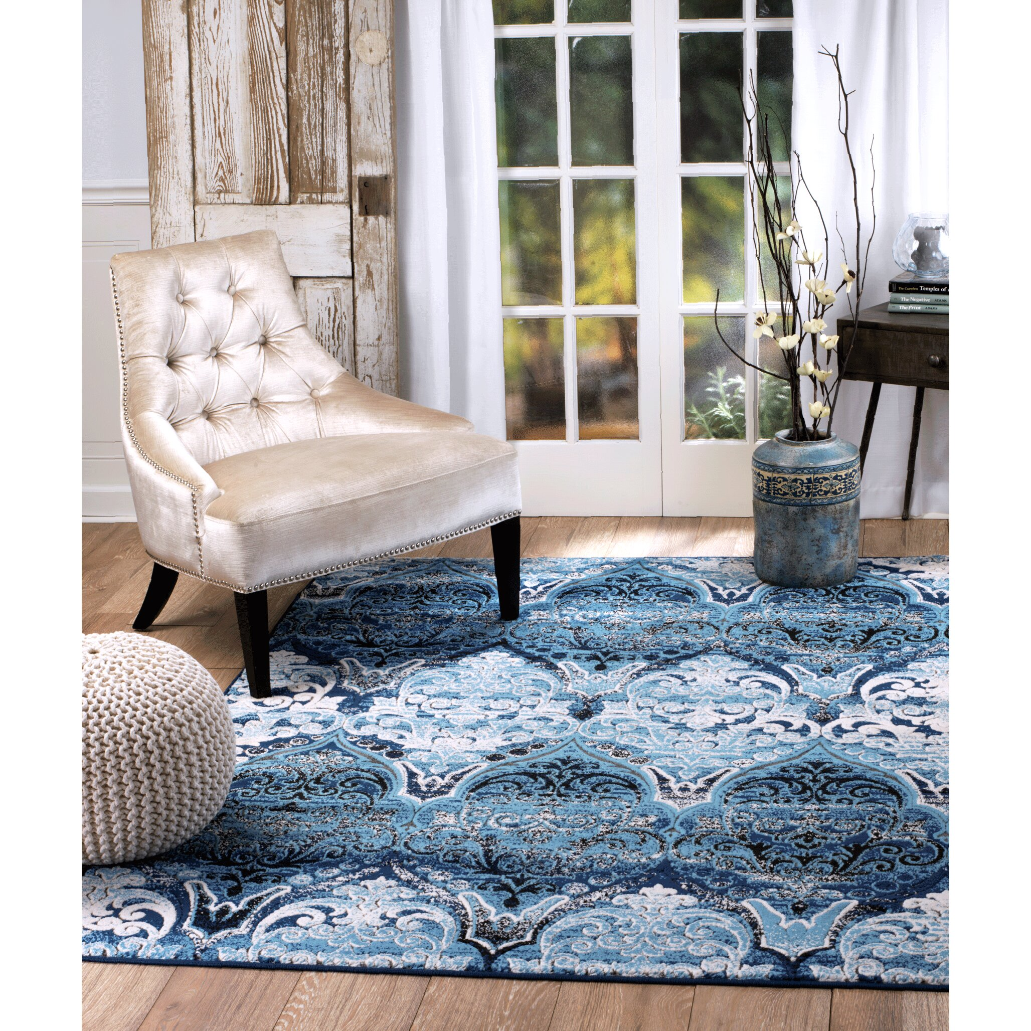 rug and decor inc chatham blue area rug amp reviews