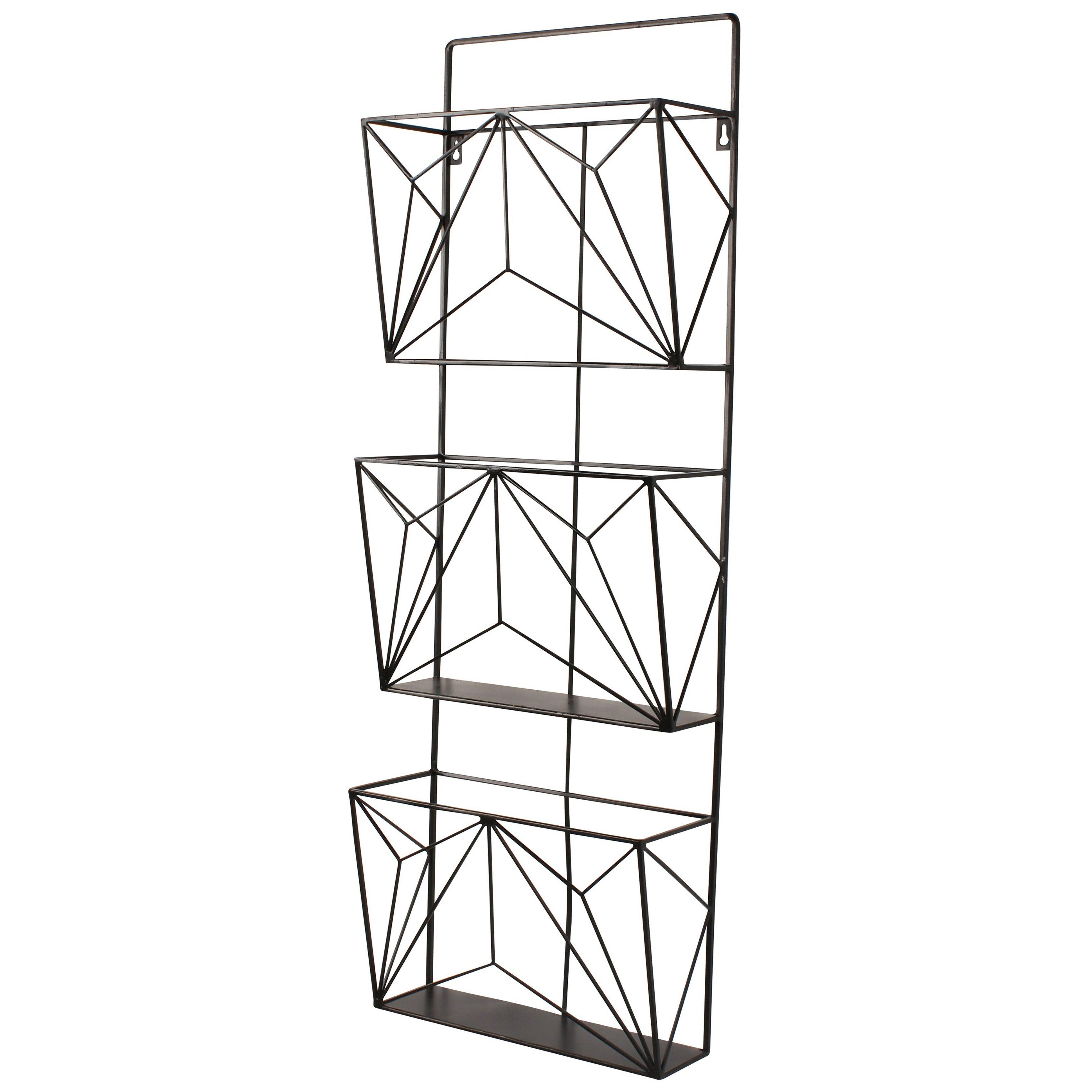 wall hanging magazine rack