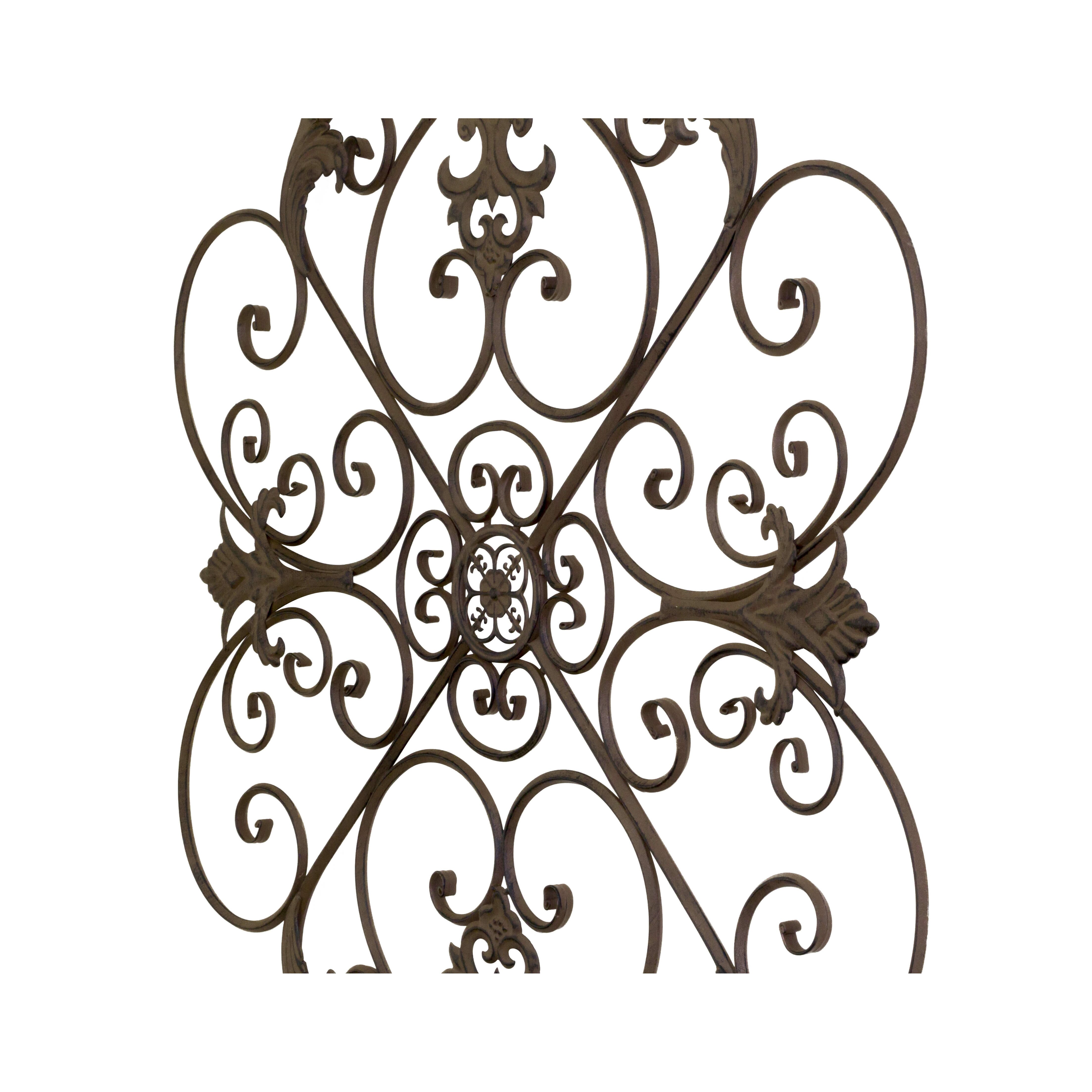 Bayaccents Wrought Iron Fleur De Lis Wall Decor Reviews