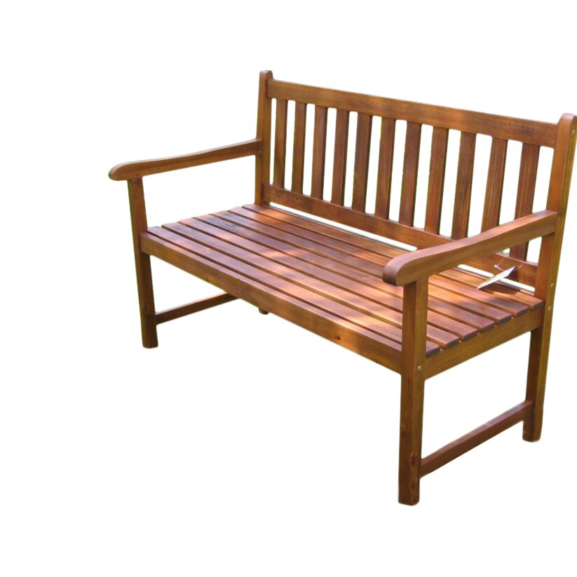 Breakwater Bay Sandy Point Acacia Wood Garden Bench Reviews