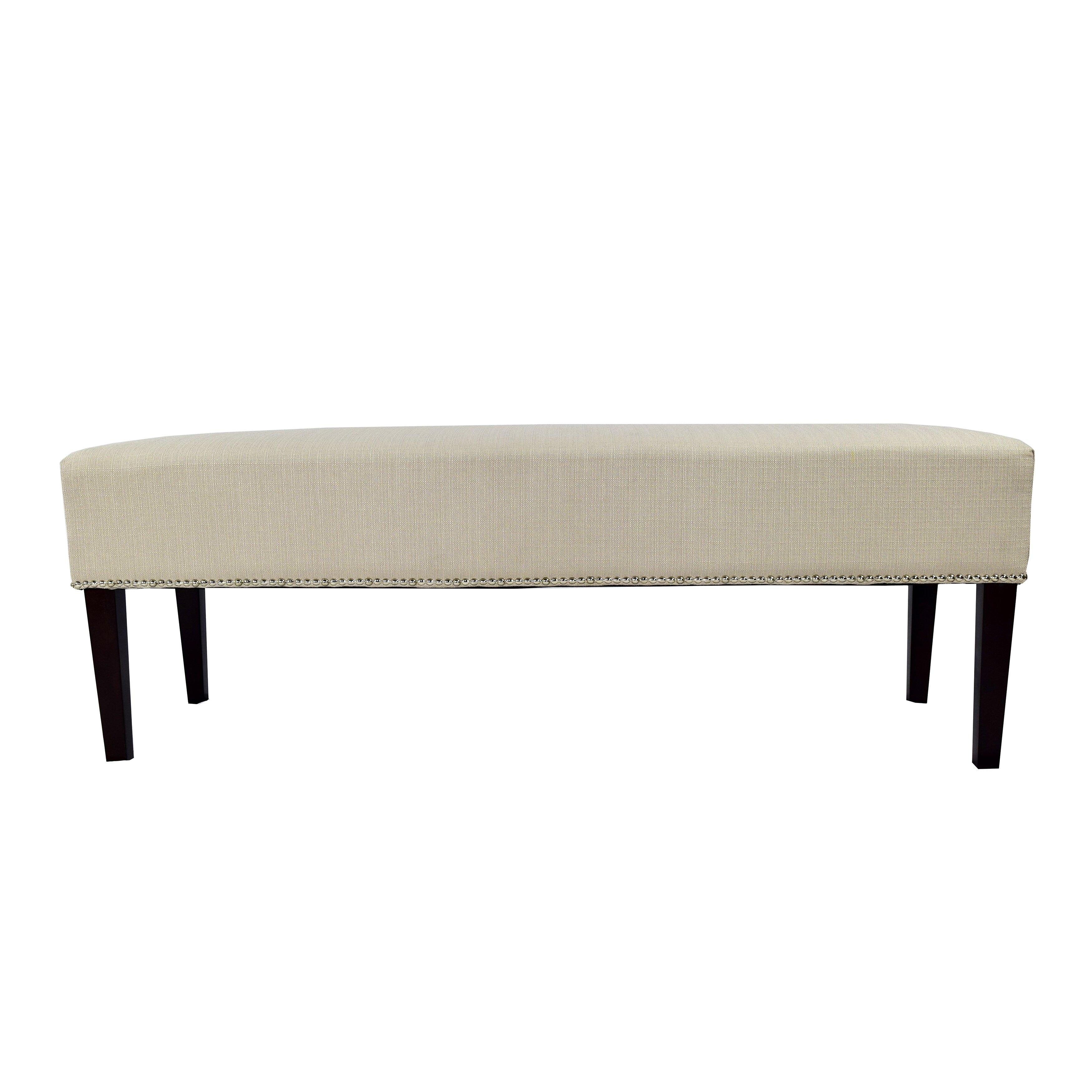 mjlfurniture roxanne upholstered bedroom bench reviews
