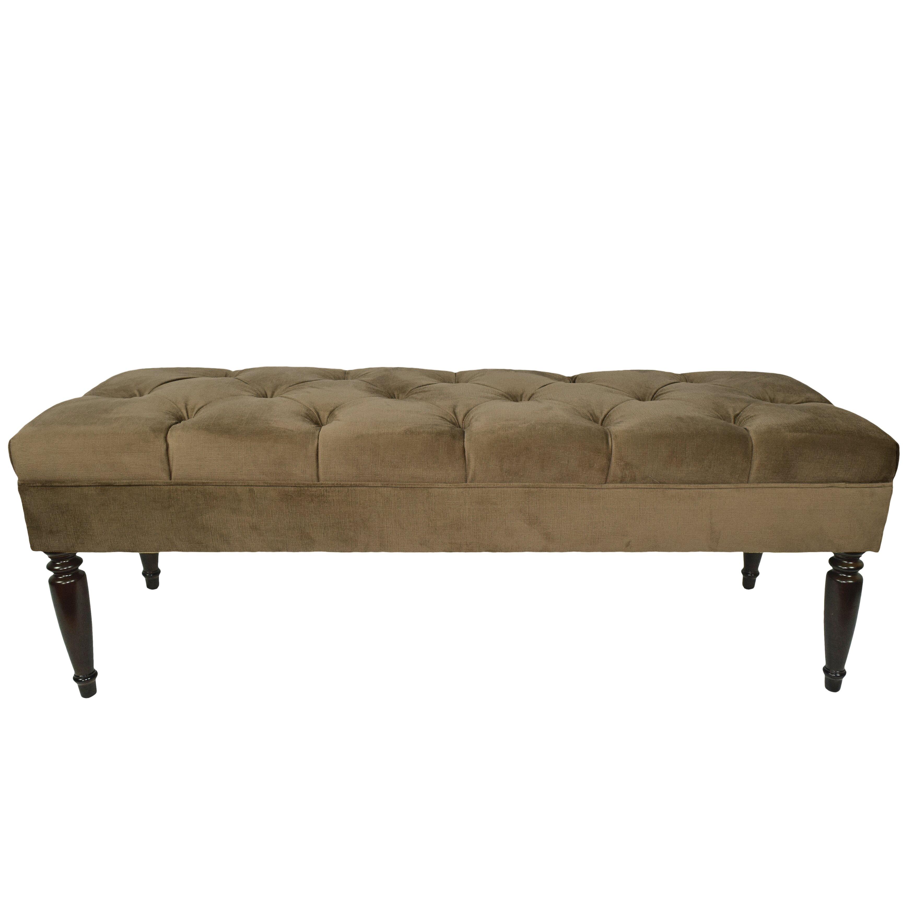 Mjlfurniture ennis upholstered bedroom bench reviews for Furniture upholsterer