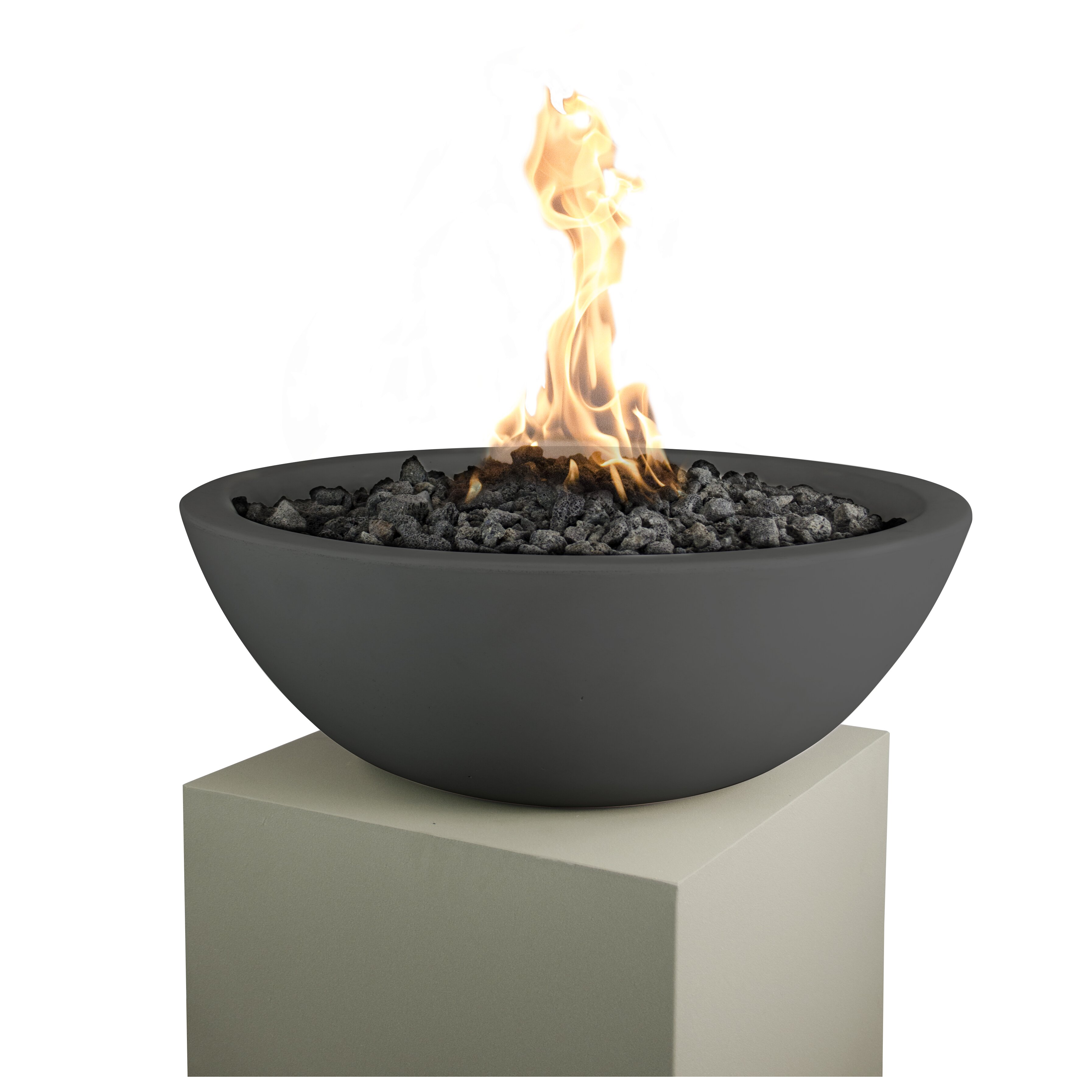 The Outdoor Plus Propane And Natural Gas Tabletop Fireplace