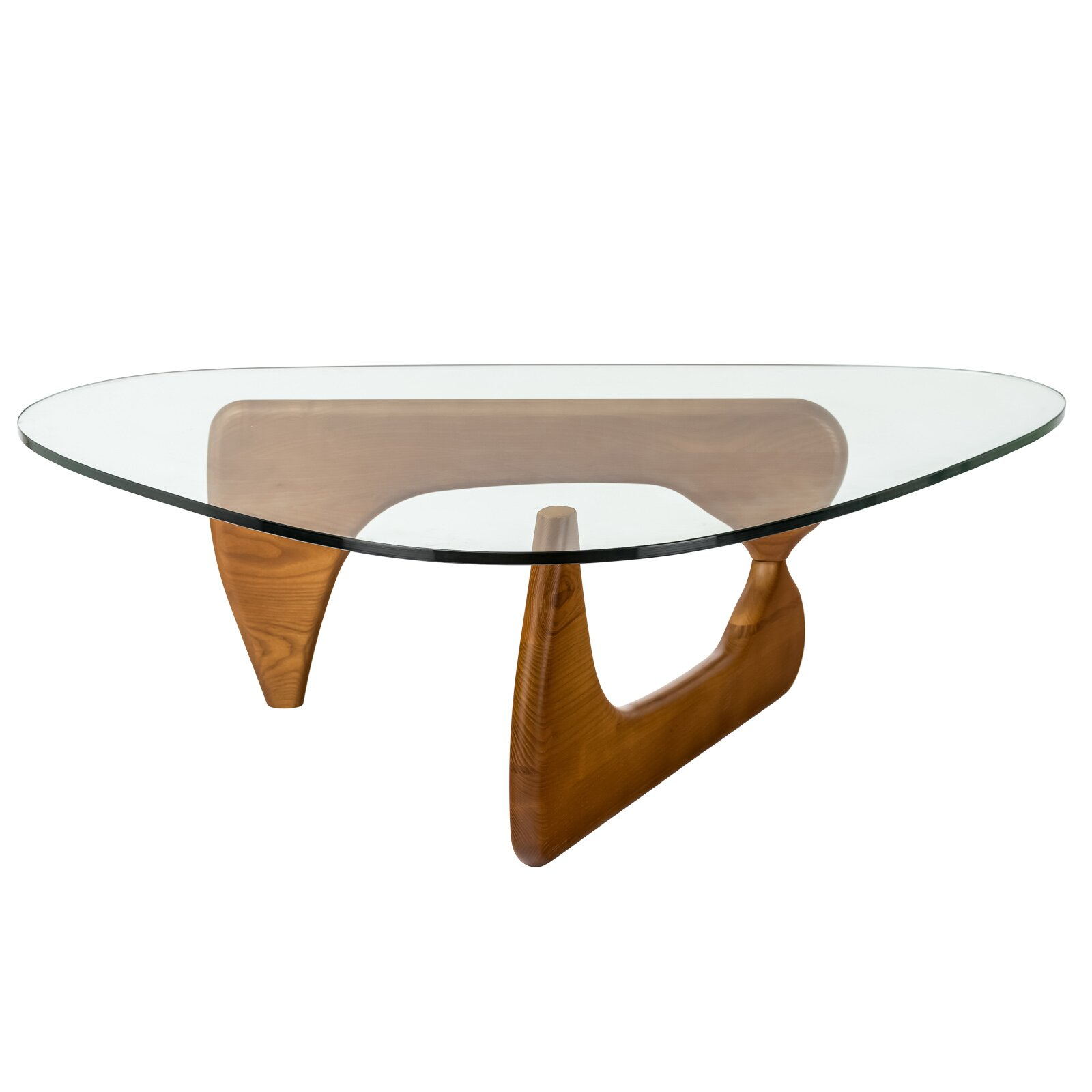Glass Coffee Oval Top Table Tables