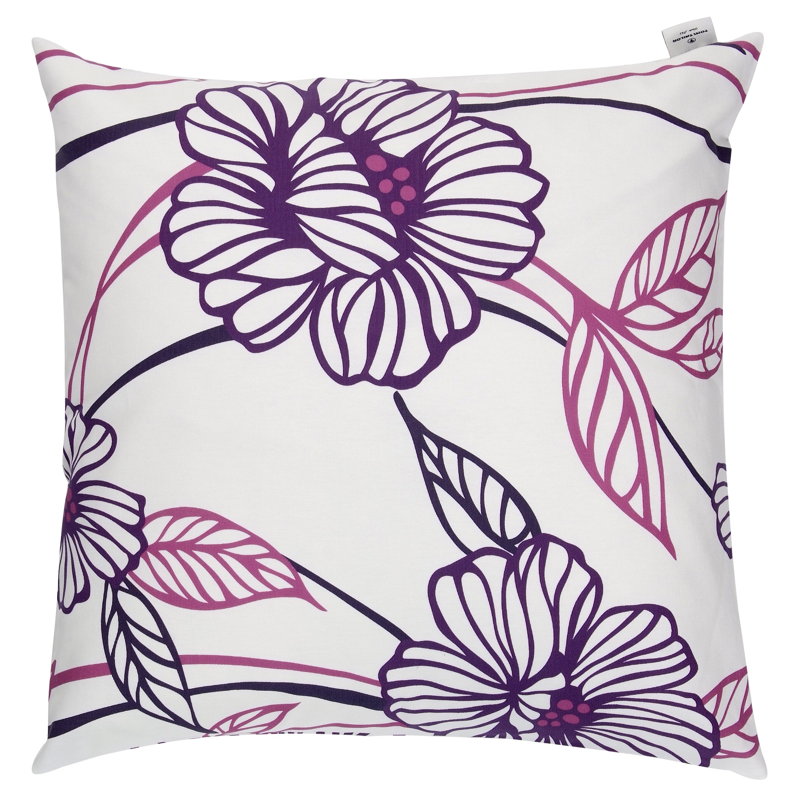 tom tailor kissenbezug big flowers aus 100 baumwolle. Black Bedroom Furniture Sets. Home Design Ideas