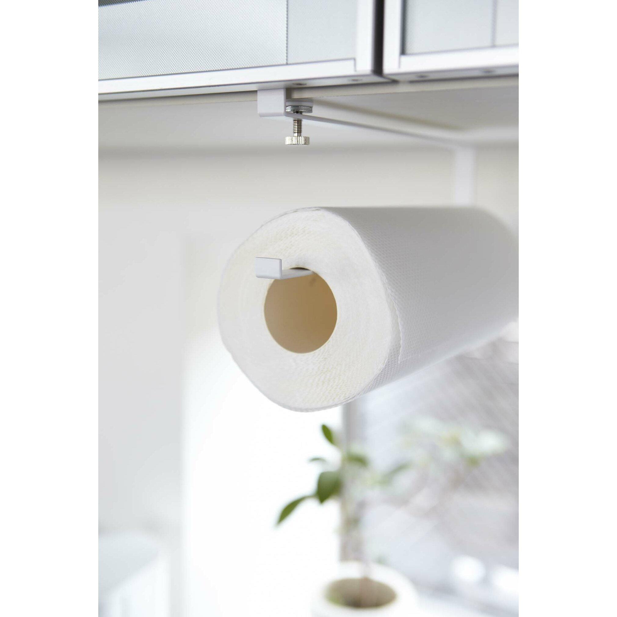 Yamazaki usa plate under shelf paper towel holder wayfair