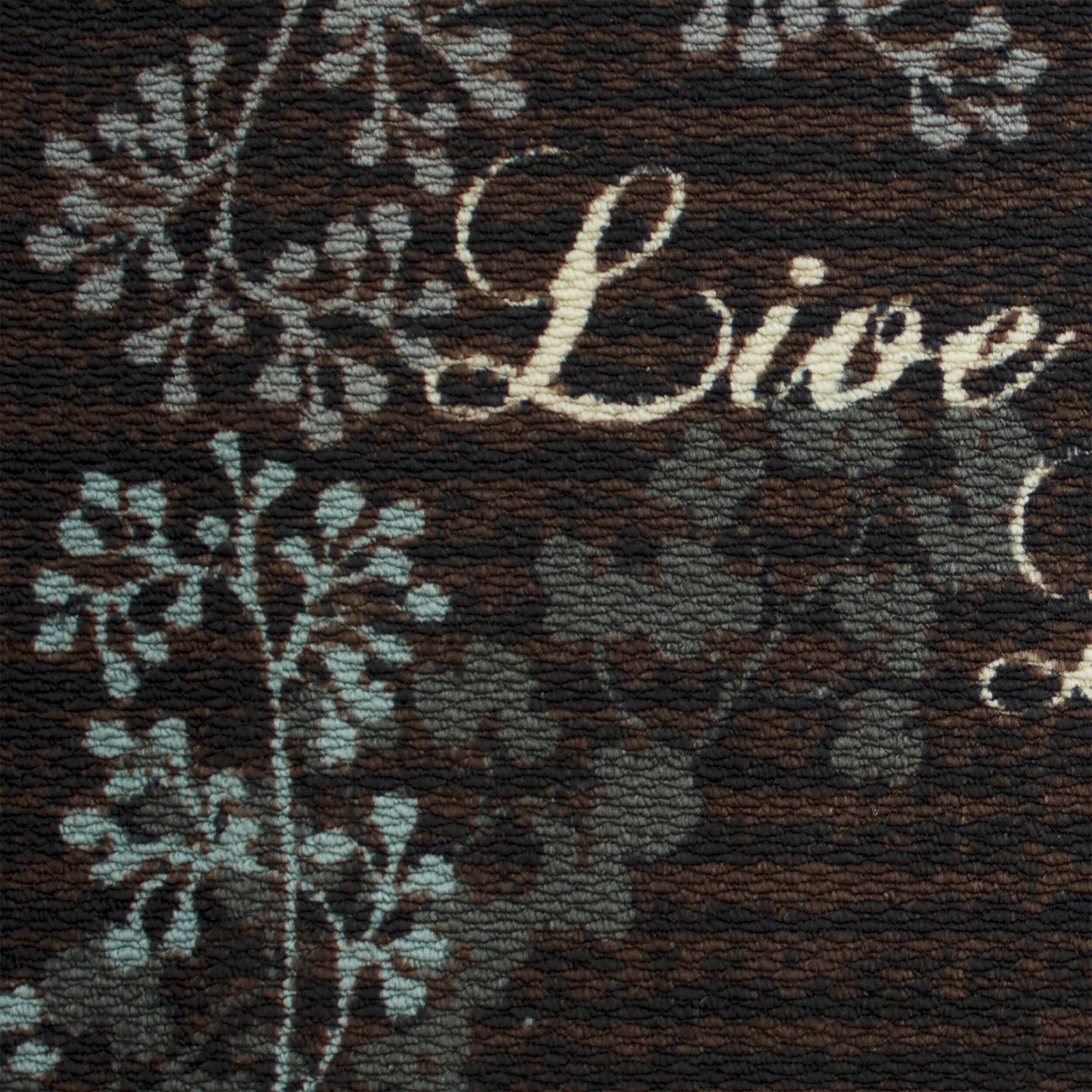 Structures Textured Loop Live Laugh Love Kitchen Area Rug