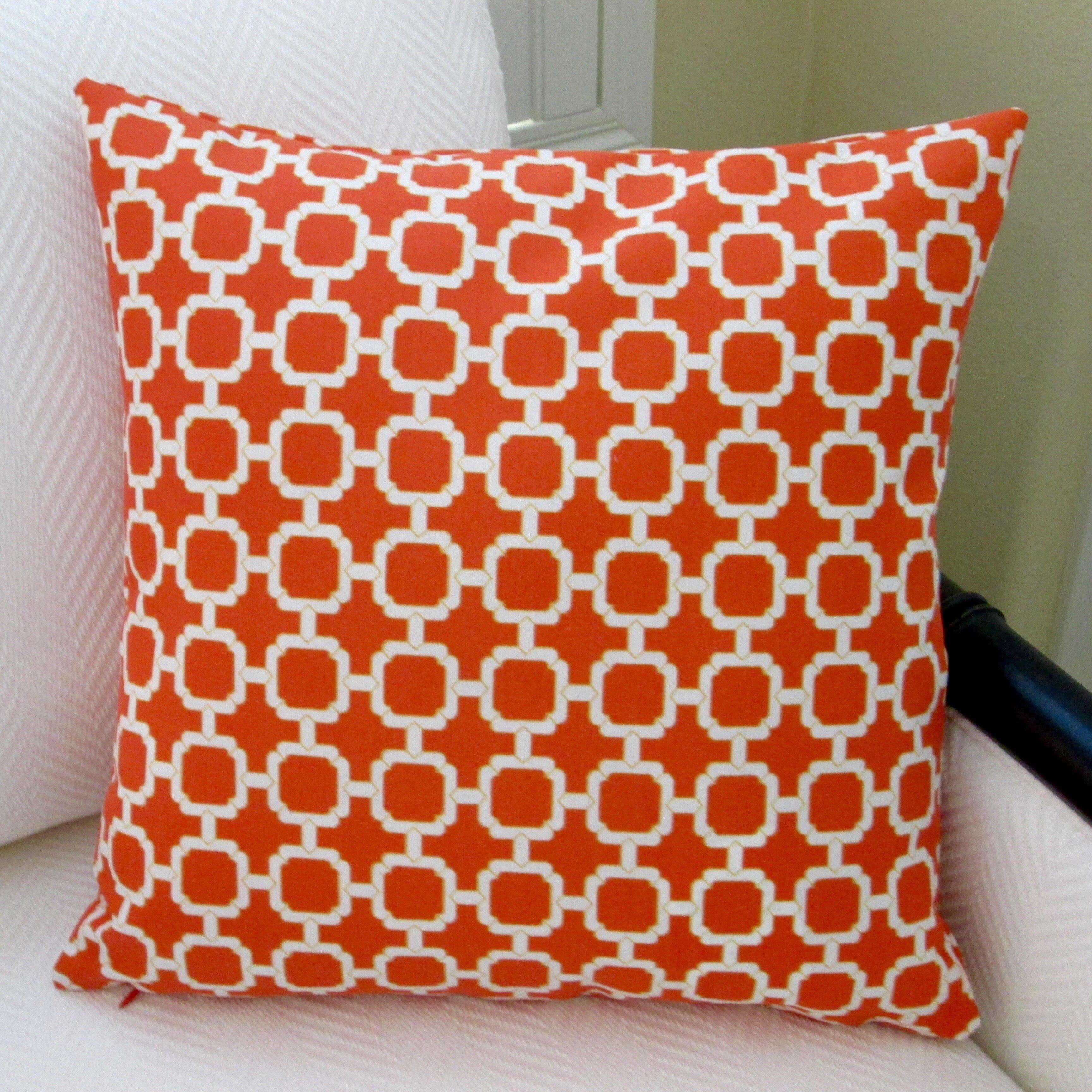 modern outdoor pillows - artisan pillows hockley geometric modern outdoor pillow cover