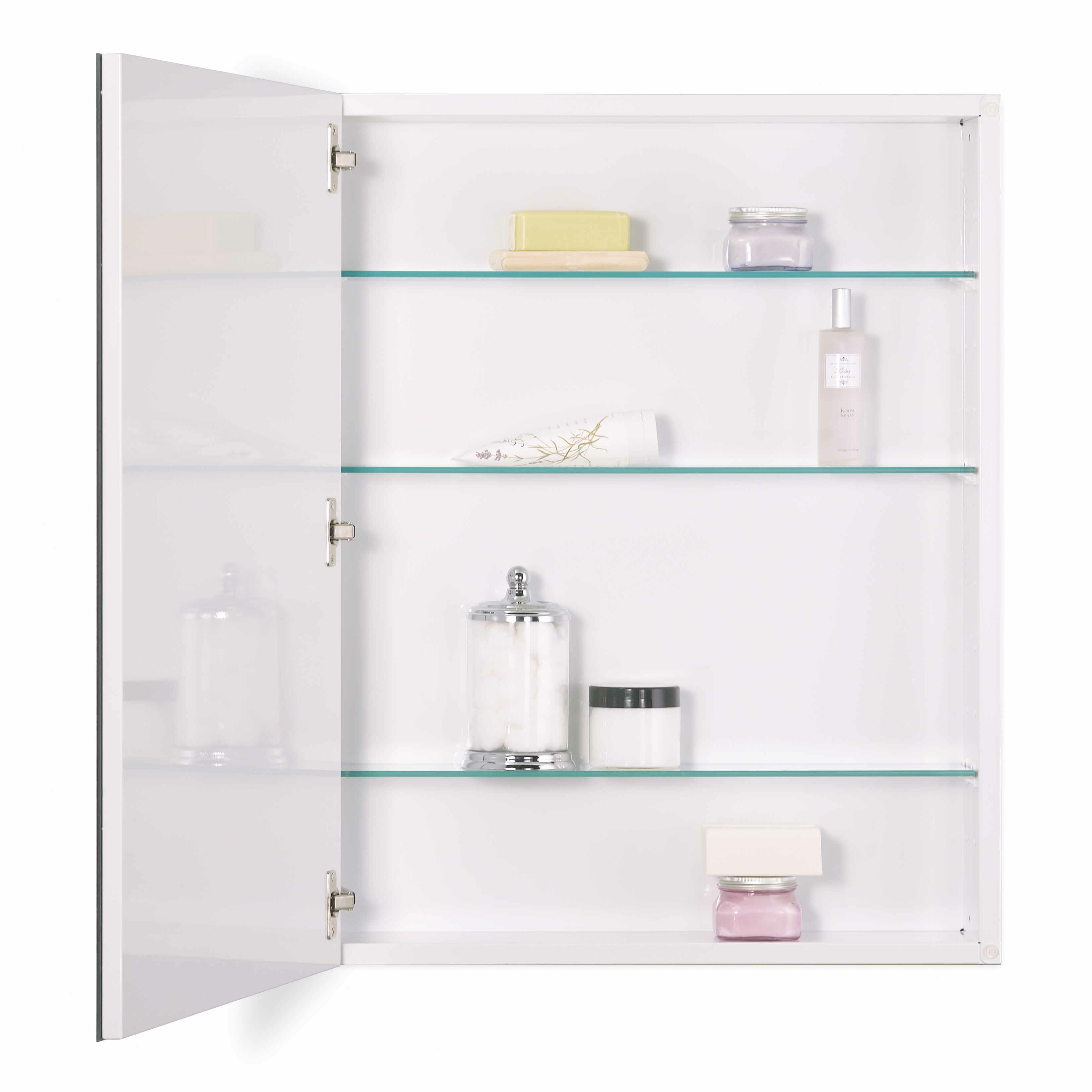 Horizontal Medicine Cabinet Jensen Metro 24 X 30 Recessed Or Surface Mount Medicine Cabinet