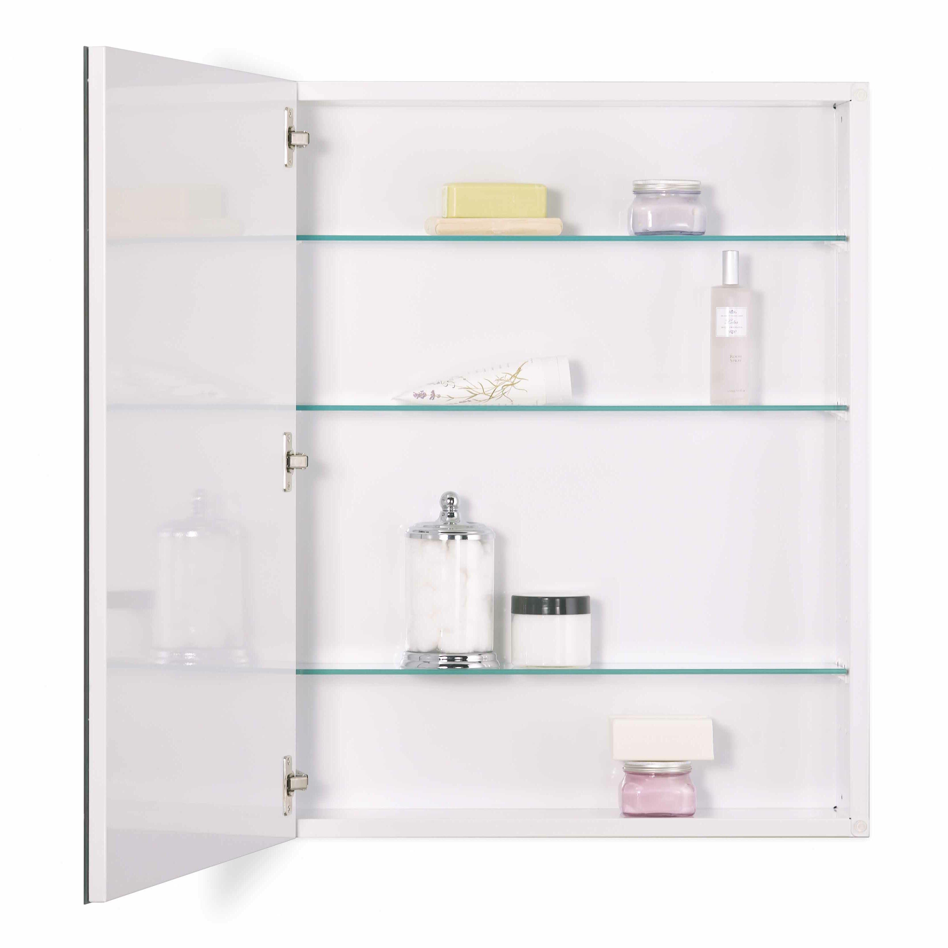 30 X 30 Medicine Cabinet Jensen 24 X 30 Recessed Or Surface Mount Medicine Cabinet