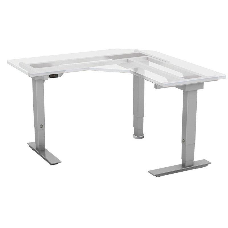 ... Patio Furniture; Esi Ergonomic Solutions Victory Electric Base L Shape  Standing Desk ...