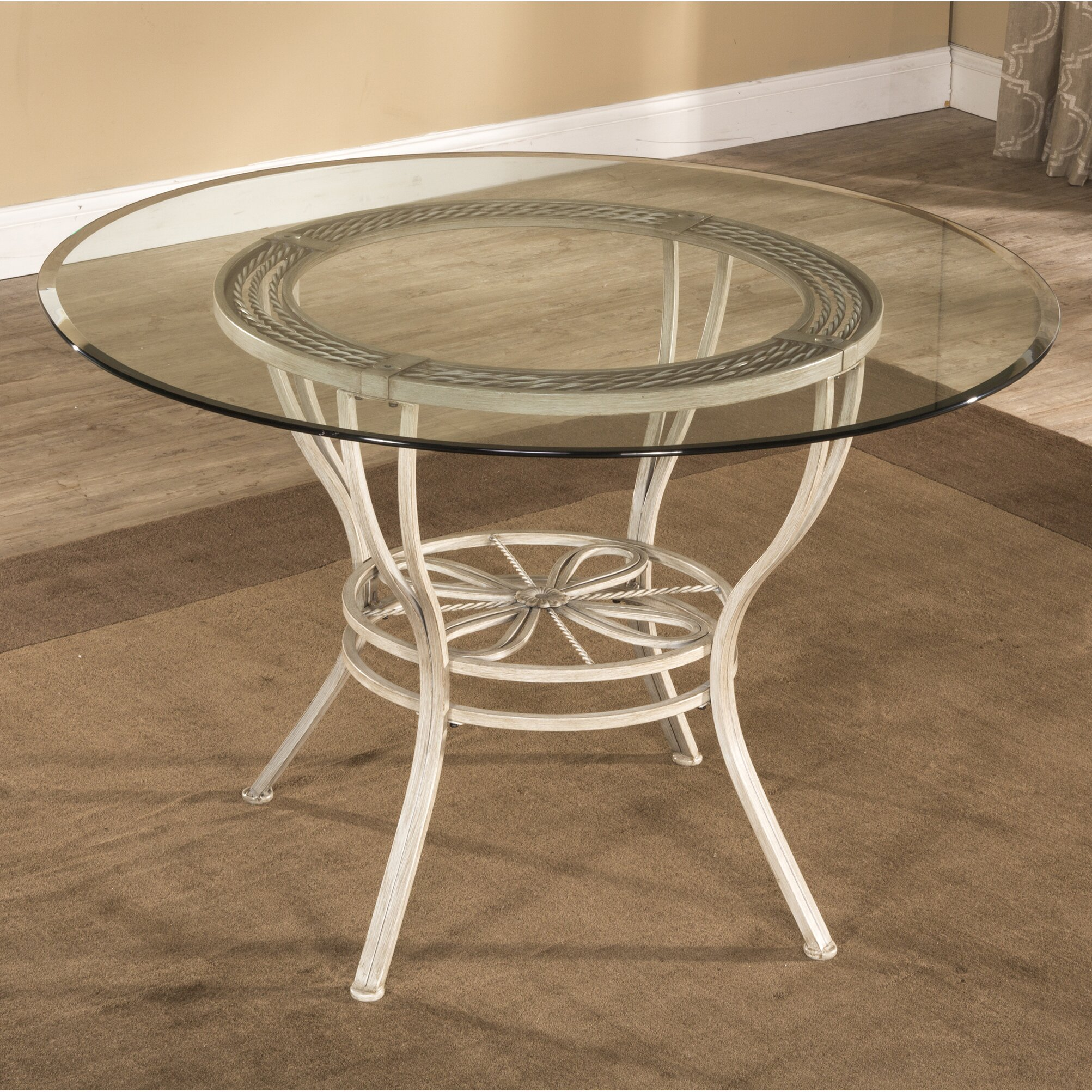 fleur de lis living anton dining table reviews. Black Bedroom Furniture Sets. Home Design Ideas