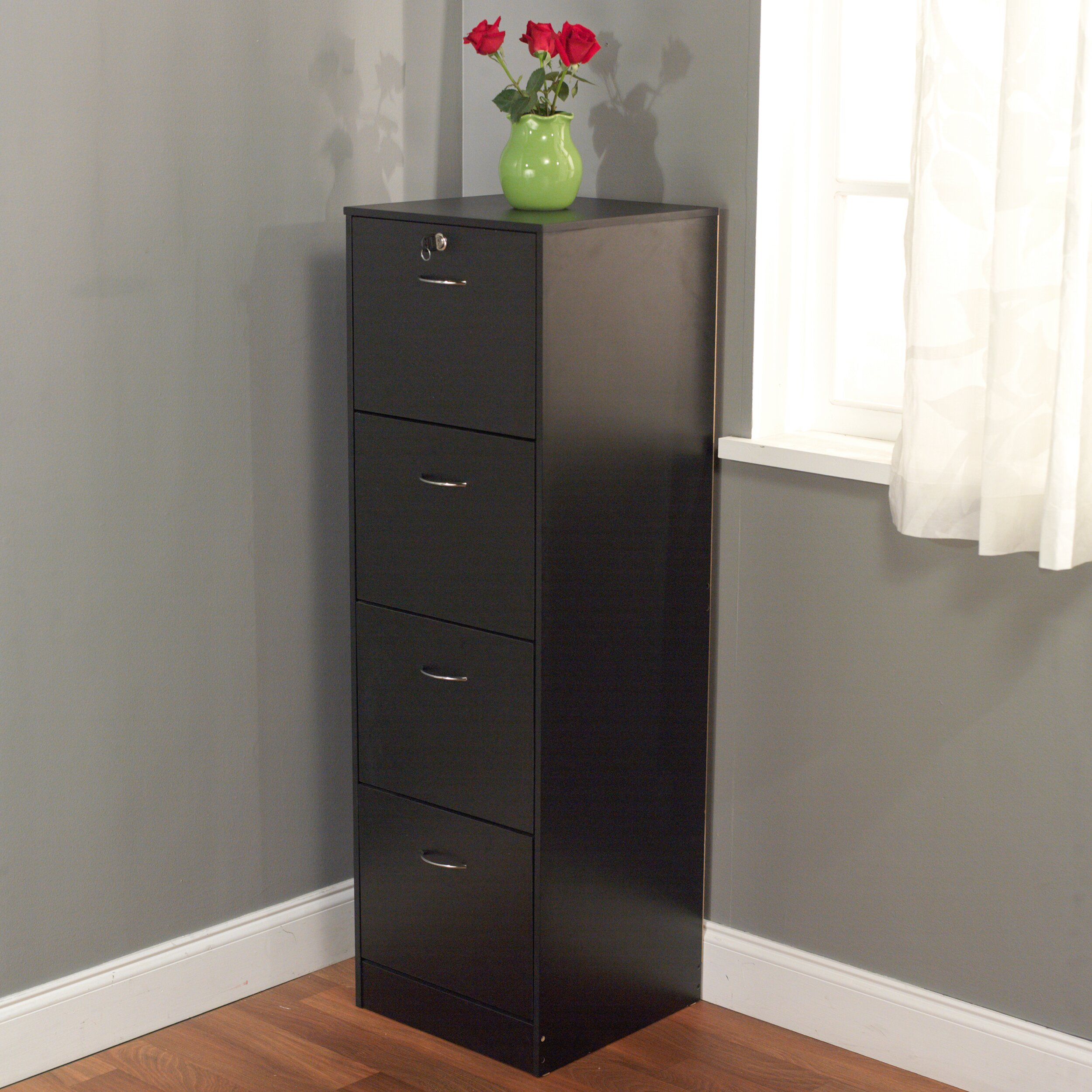 Roll Around File Cabinets Wood Filing Cabinets Youll Love