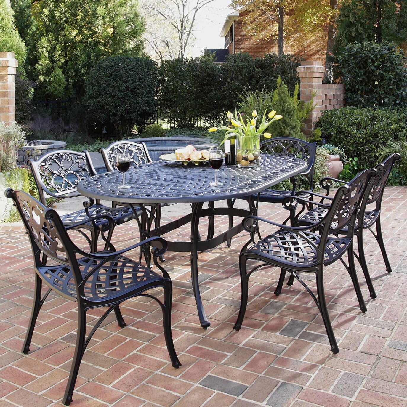 Iron Patio Furniture For Bhbr Info